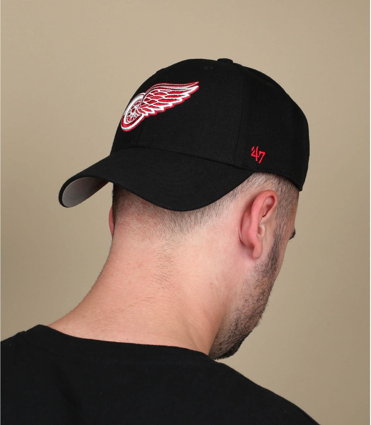 casquette Detroit noire