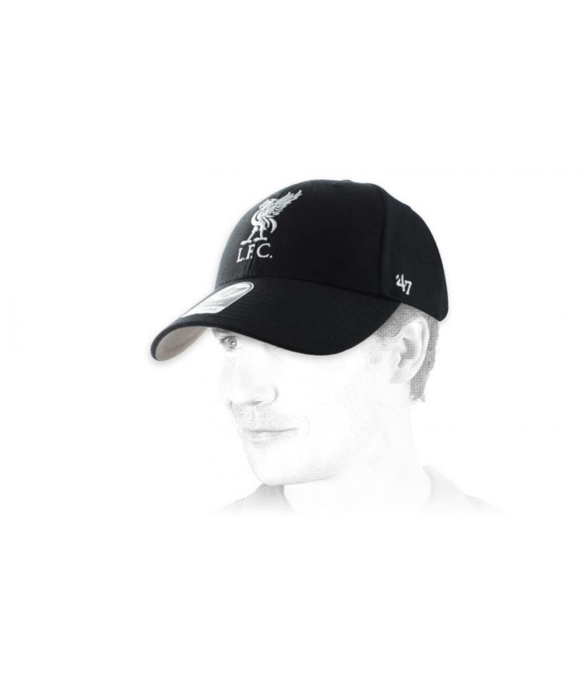 casquette Liverpool noire
