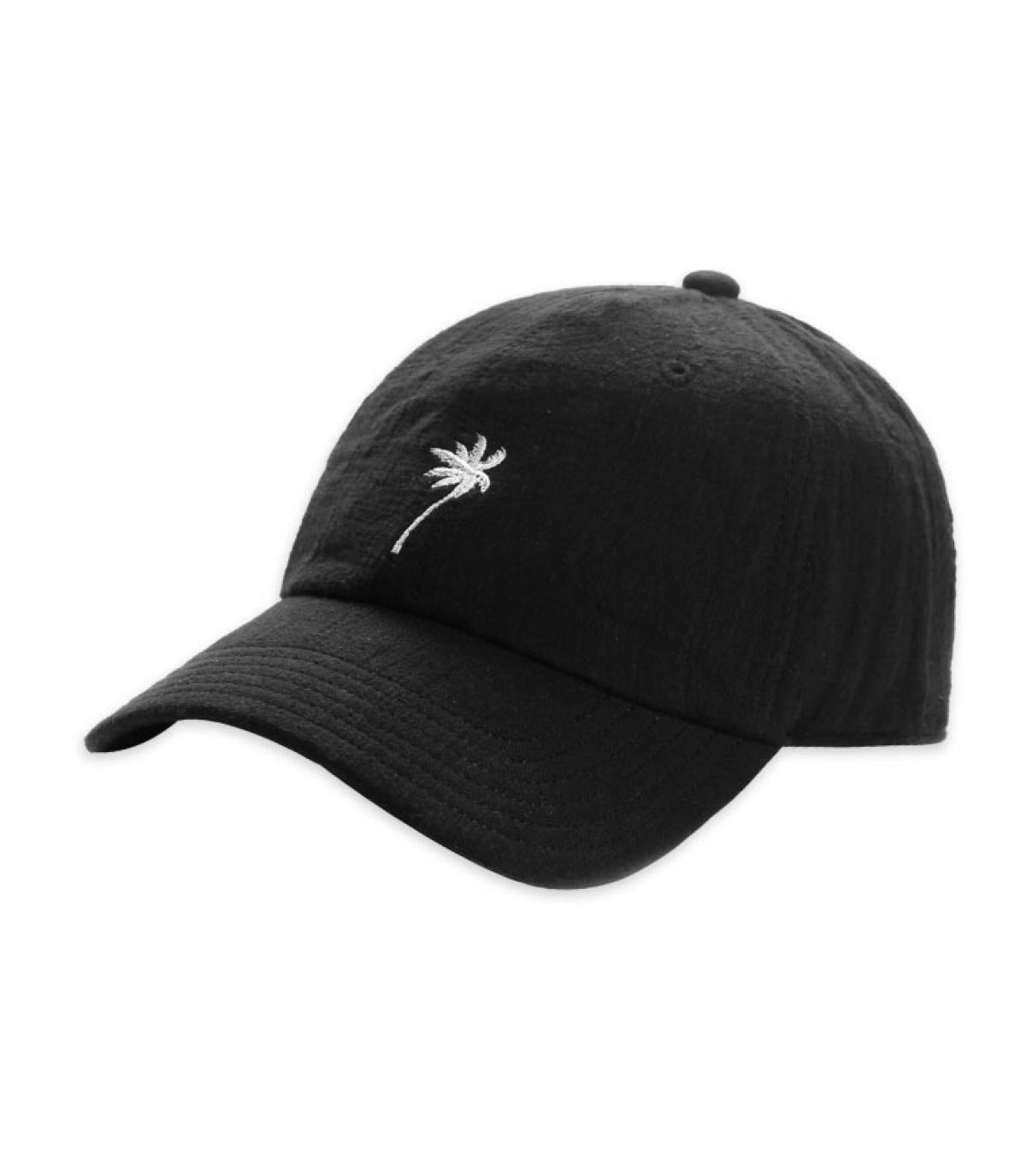 casquette palmier noire Cayler