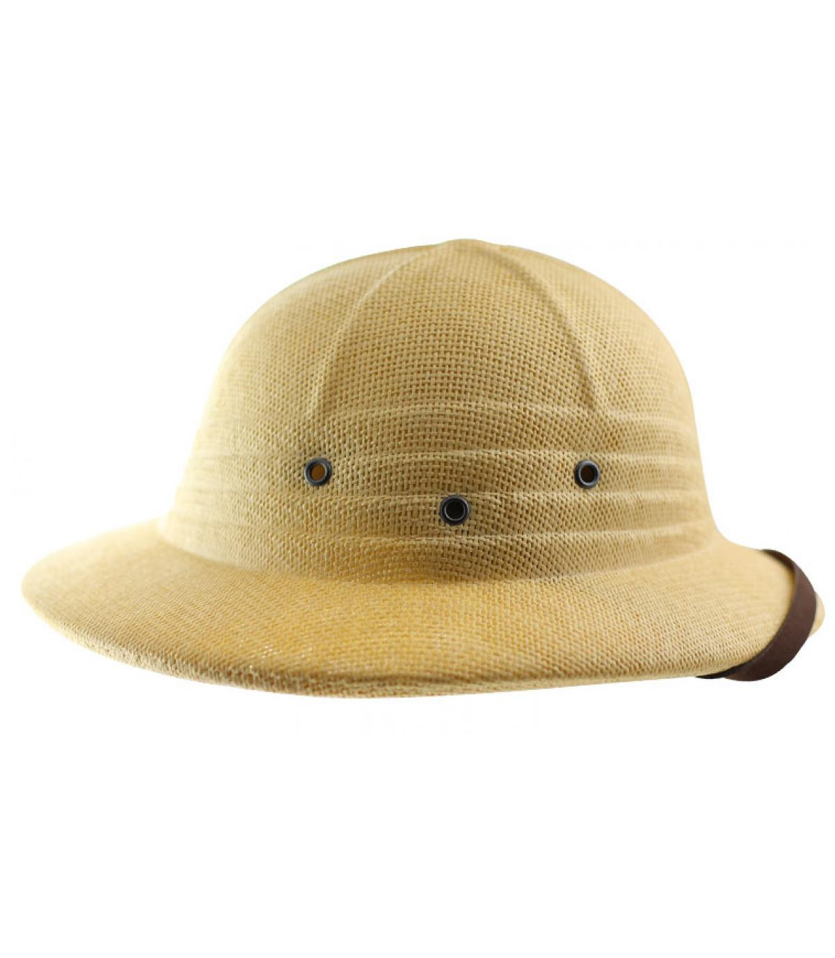 Détails Tropical helmet beige - image 2