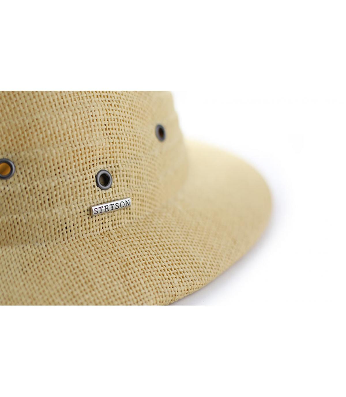 Détails Tropical helmet beige - image 3