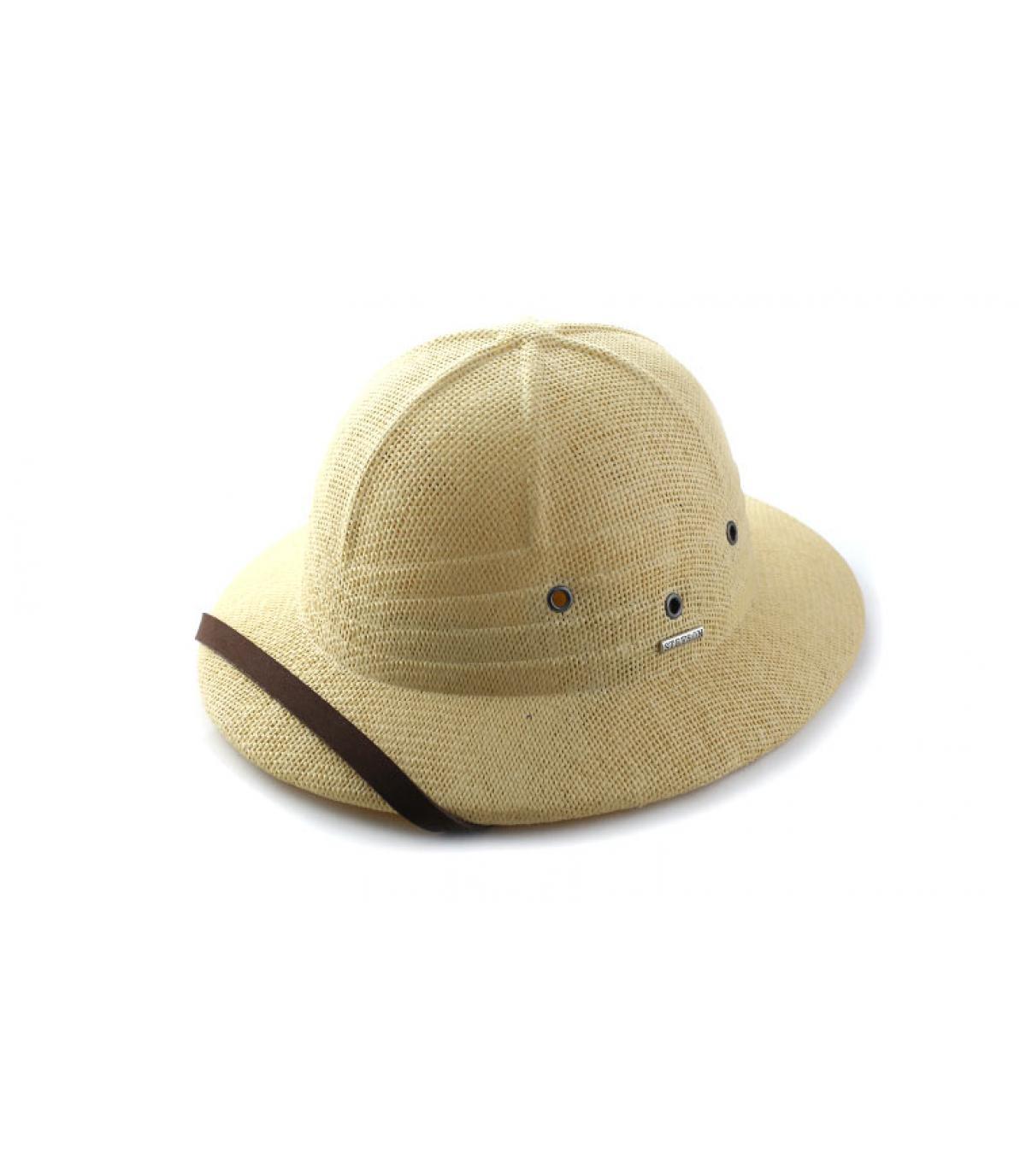 Détails Tropical helmet beige - image 5