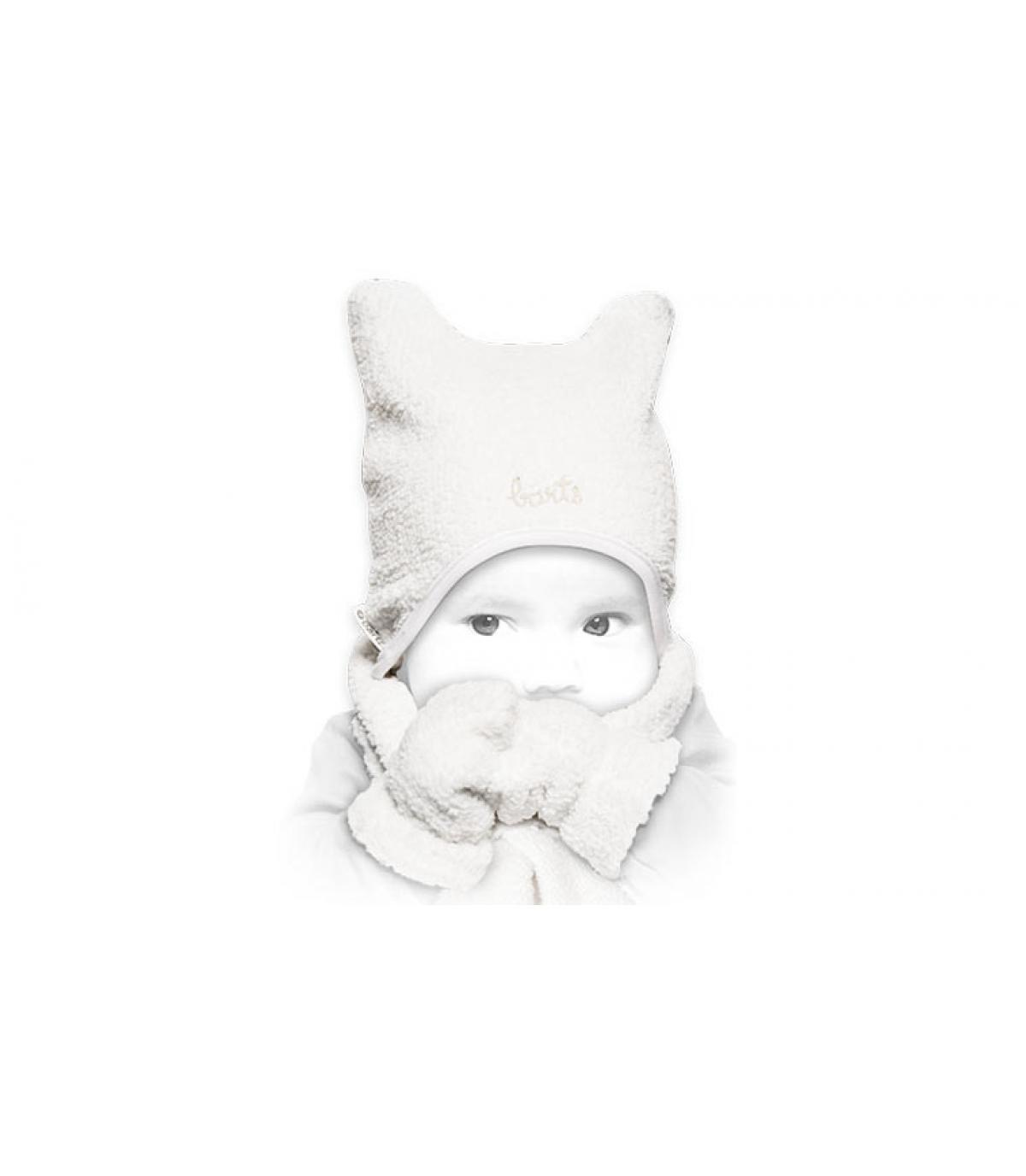 ensemble bonnet echarpe gant bébé