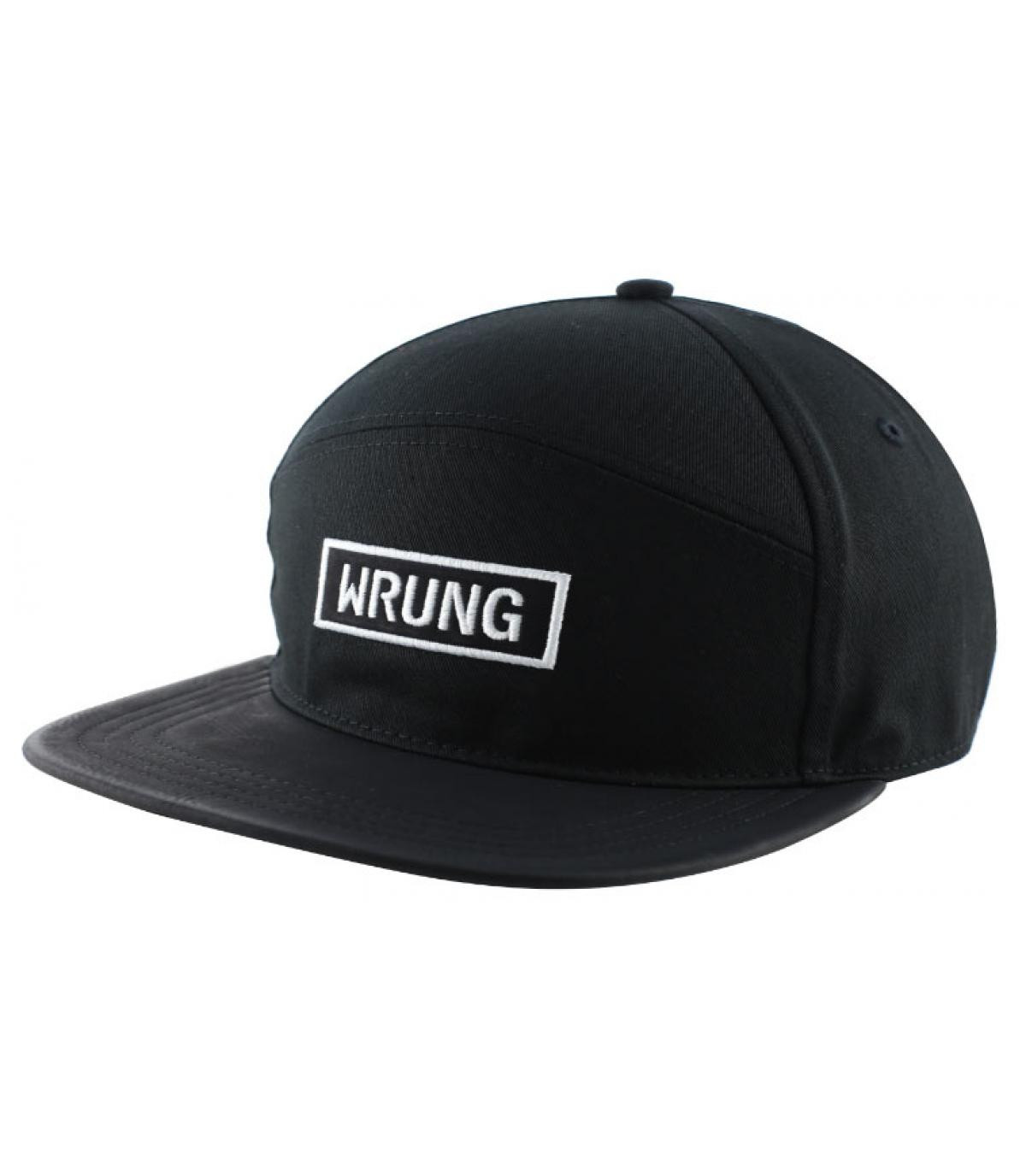 casquette logo rectangle Wrung