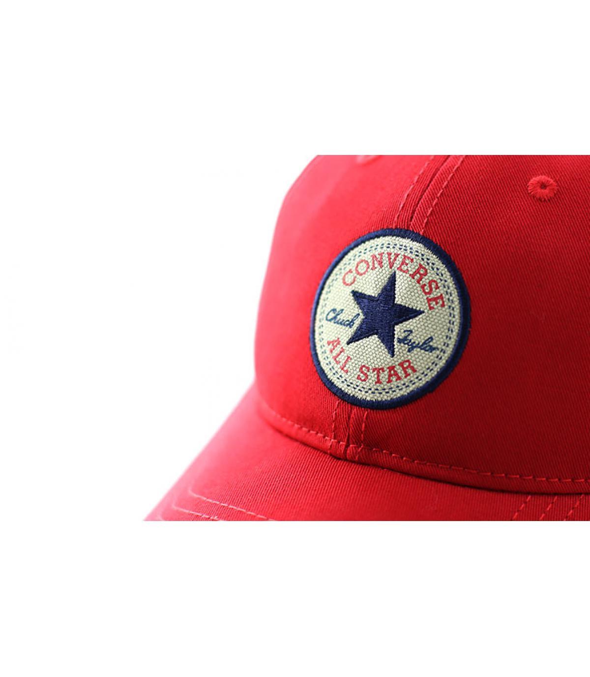 casquette converse homme rouge