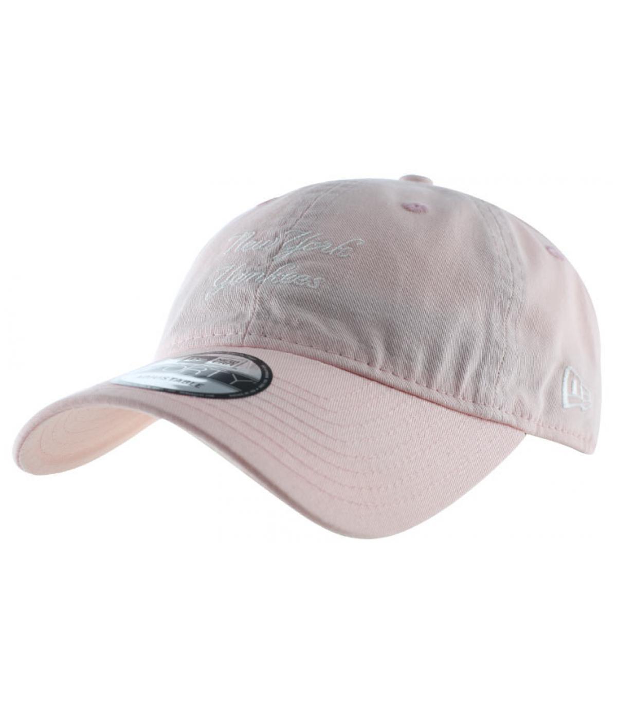 Détails Casquette NY Sunbleach Unstructured pink - image 2