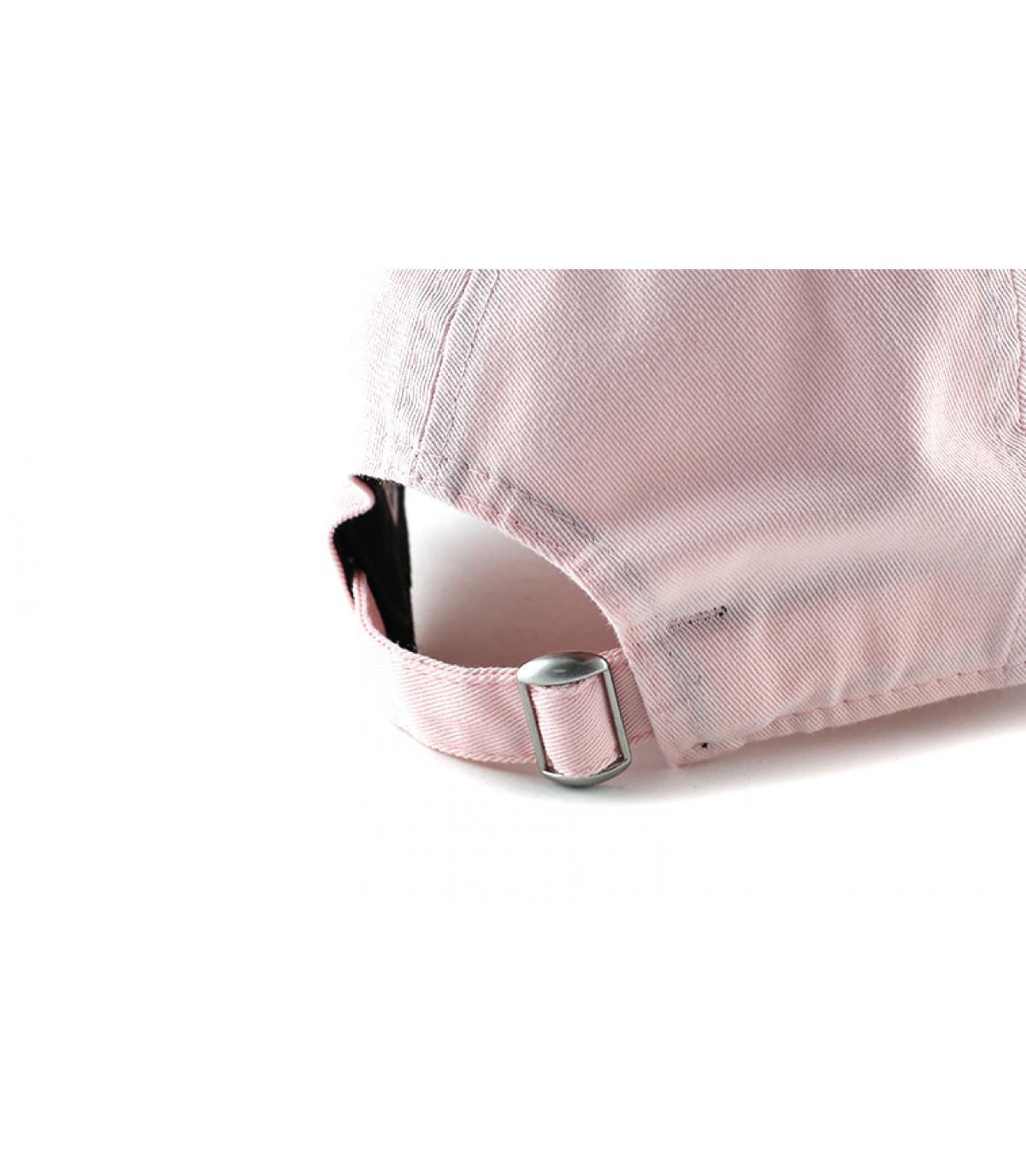 Détails Casquette NY Sunbleach Unstructured pink - image 5
