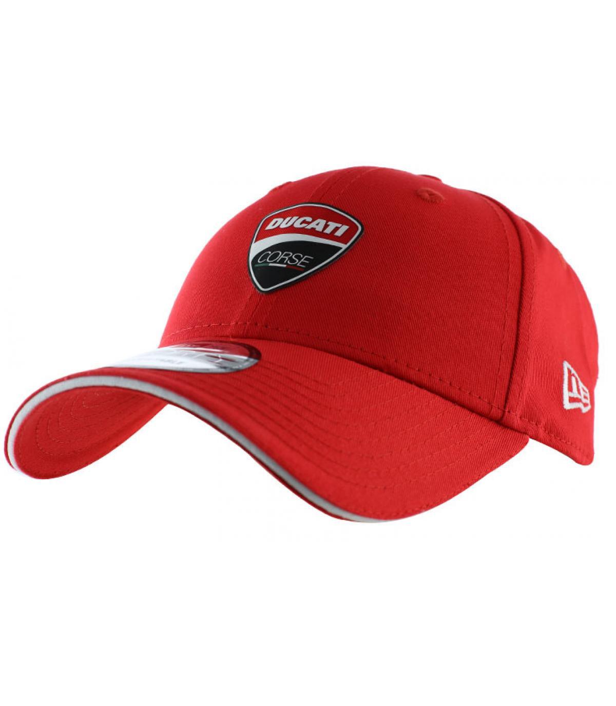 casquette Ducati rouge
