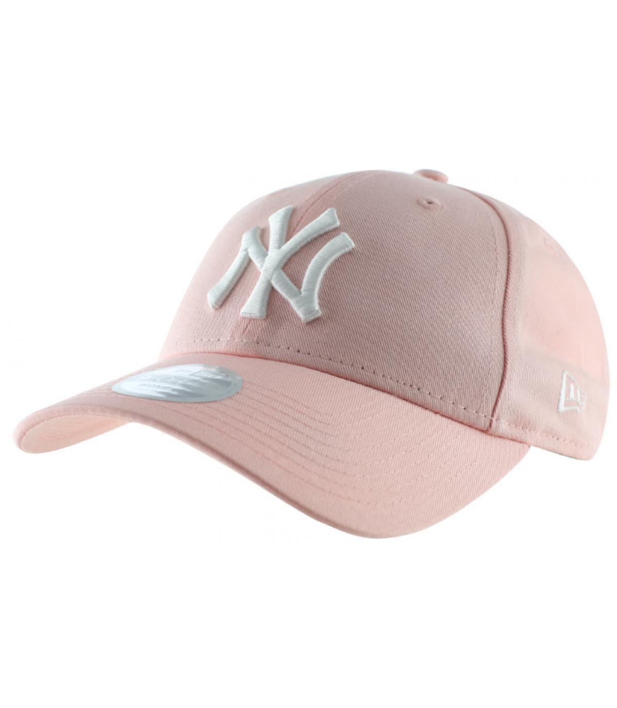 Détails Casquette Femme NY League Essential pink - image 2