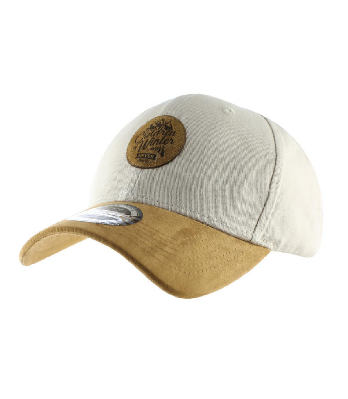 cap curve Children of Winter beige