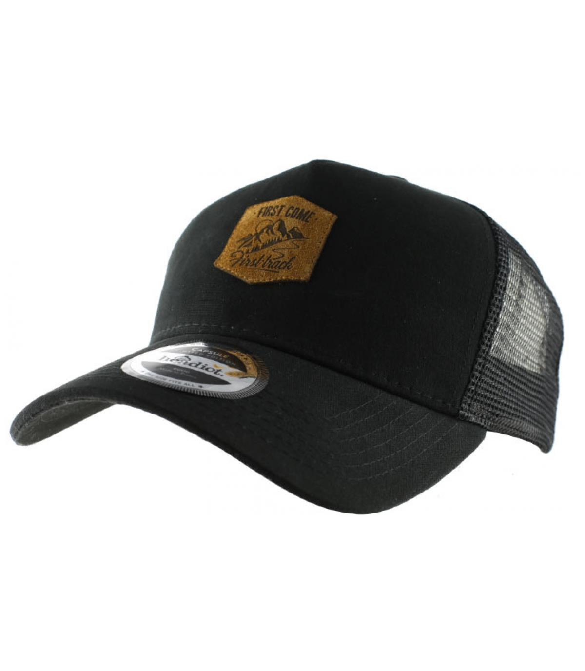 Détails Trucker First Come First Track black - image 2