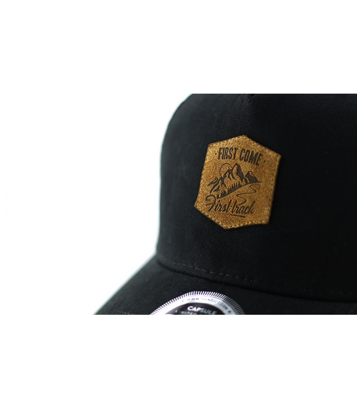 Détails Trucker First Come First Track black - image 3