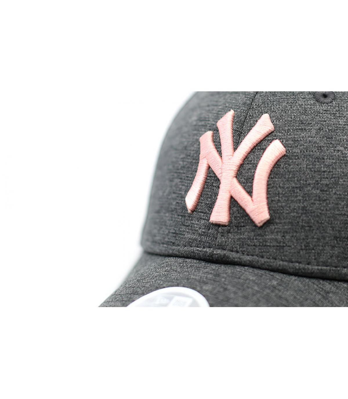 Détails Casqeutte NY Woman Tech Jersey gray pink - image 3