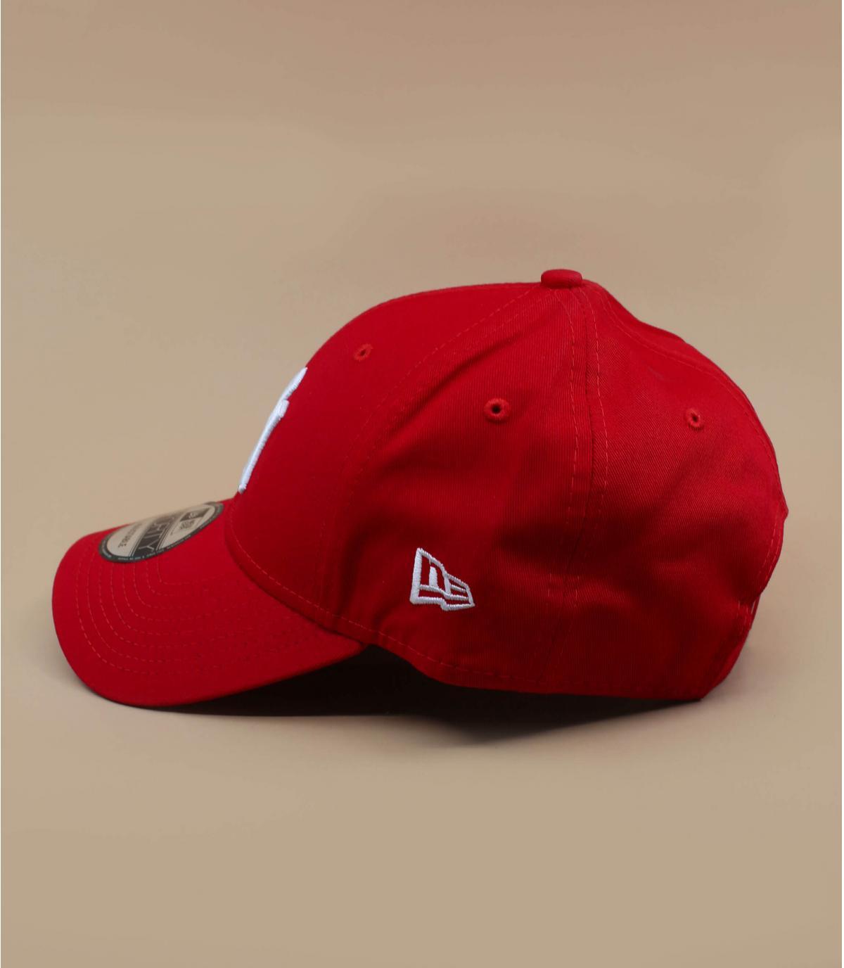 Détails Casquette NY 9forty rouge ajustable - image 3