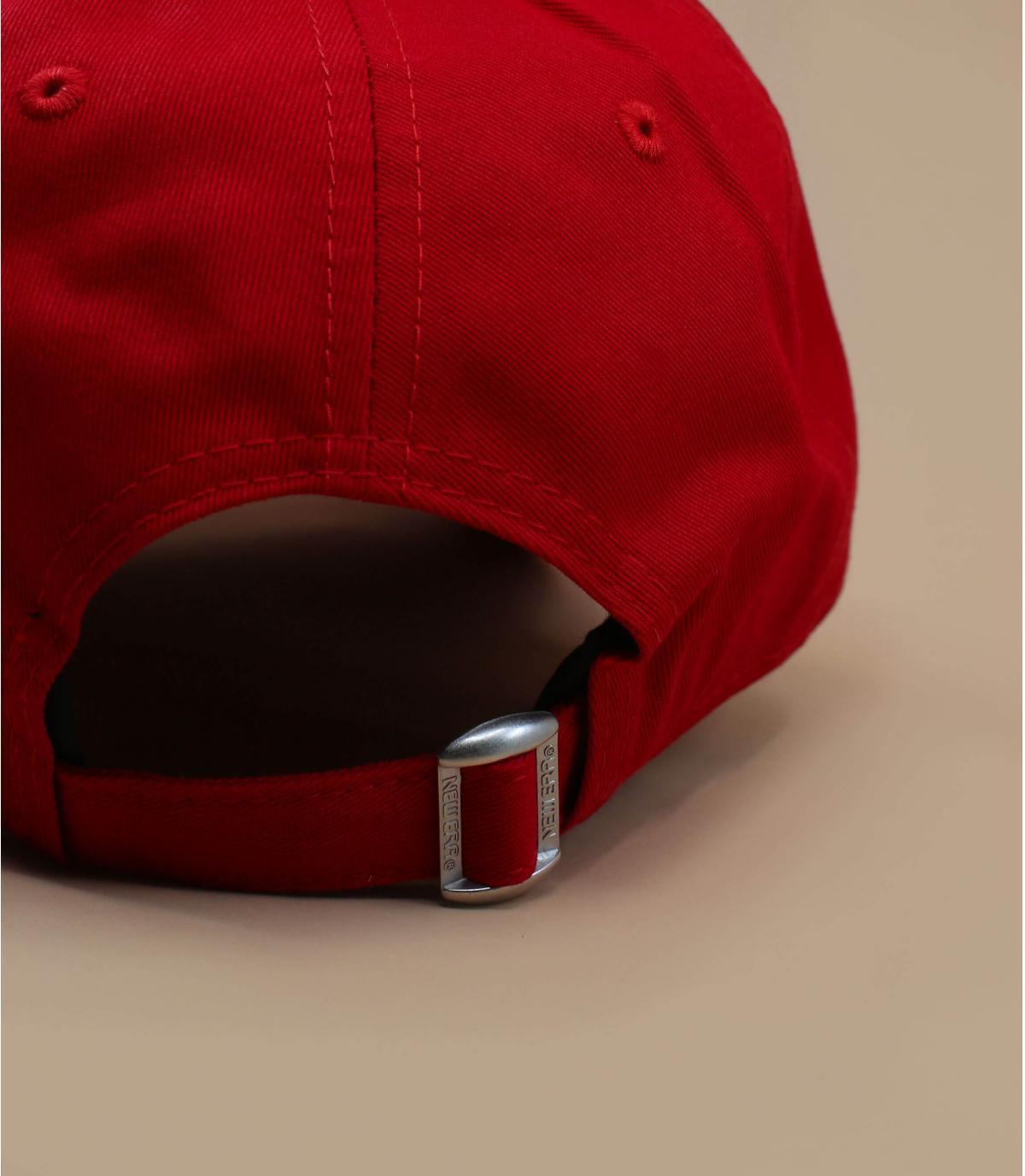 Détails Casquette NY 9forty rouge ajustable - image 5
