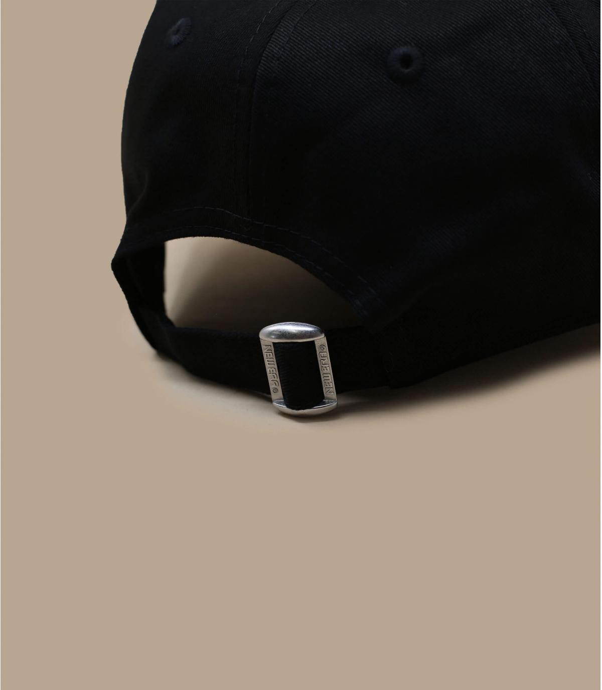 Détails Casquette NY 9forty noire ajustable - image 3