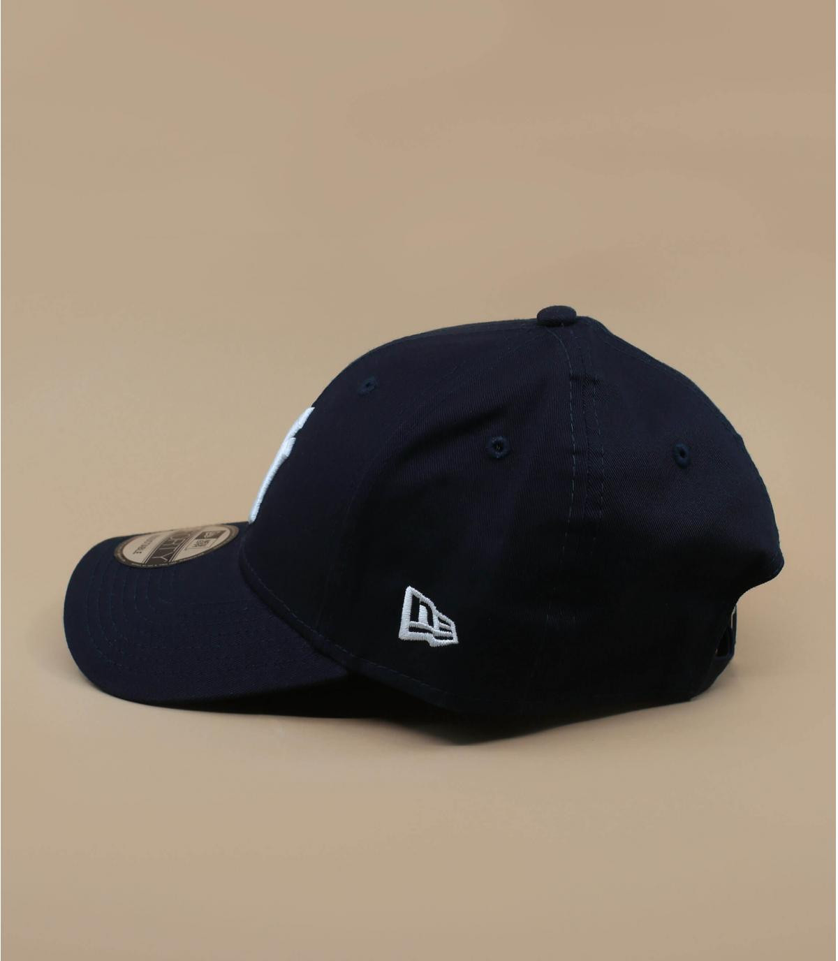 casquette ajustable bleu marine trucker ny navy ajustable par new era