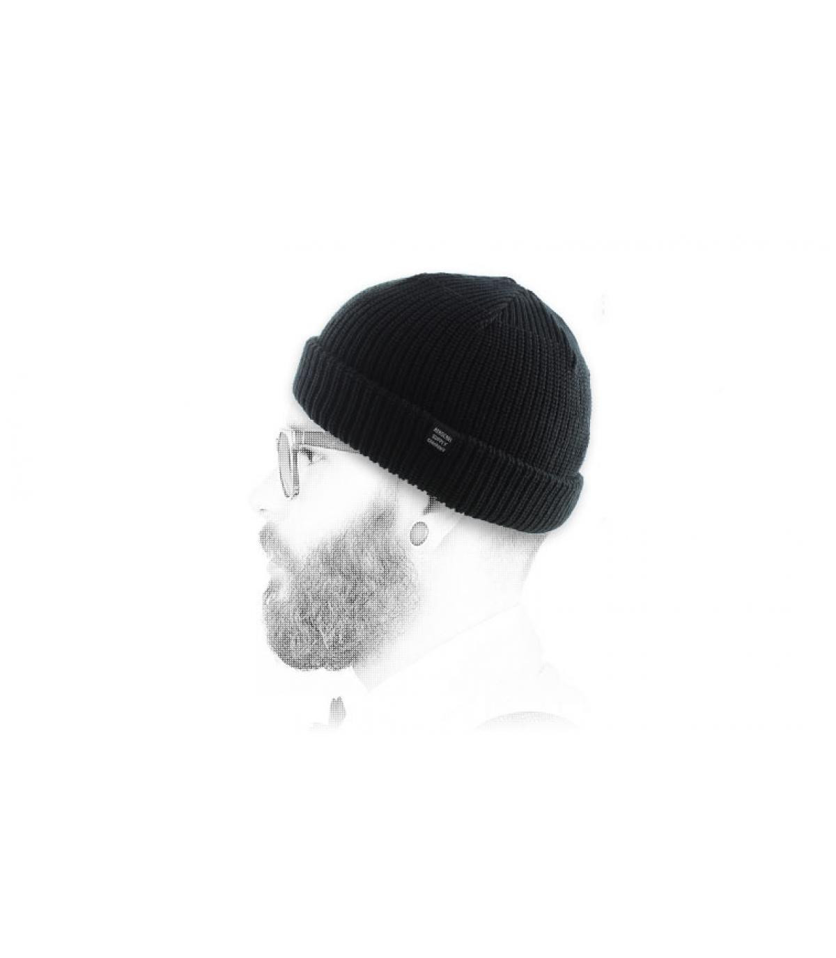bonnet docker Herschel noir