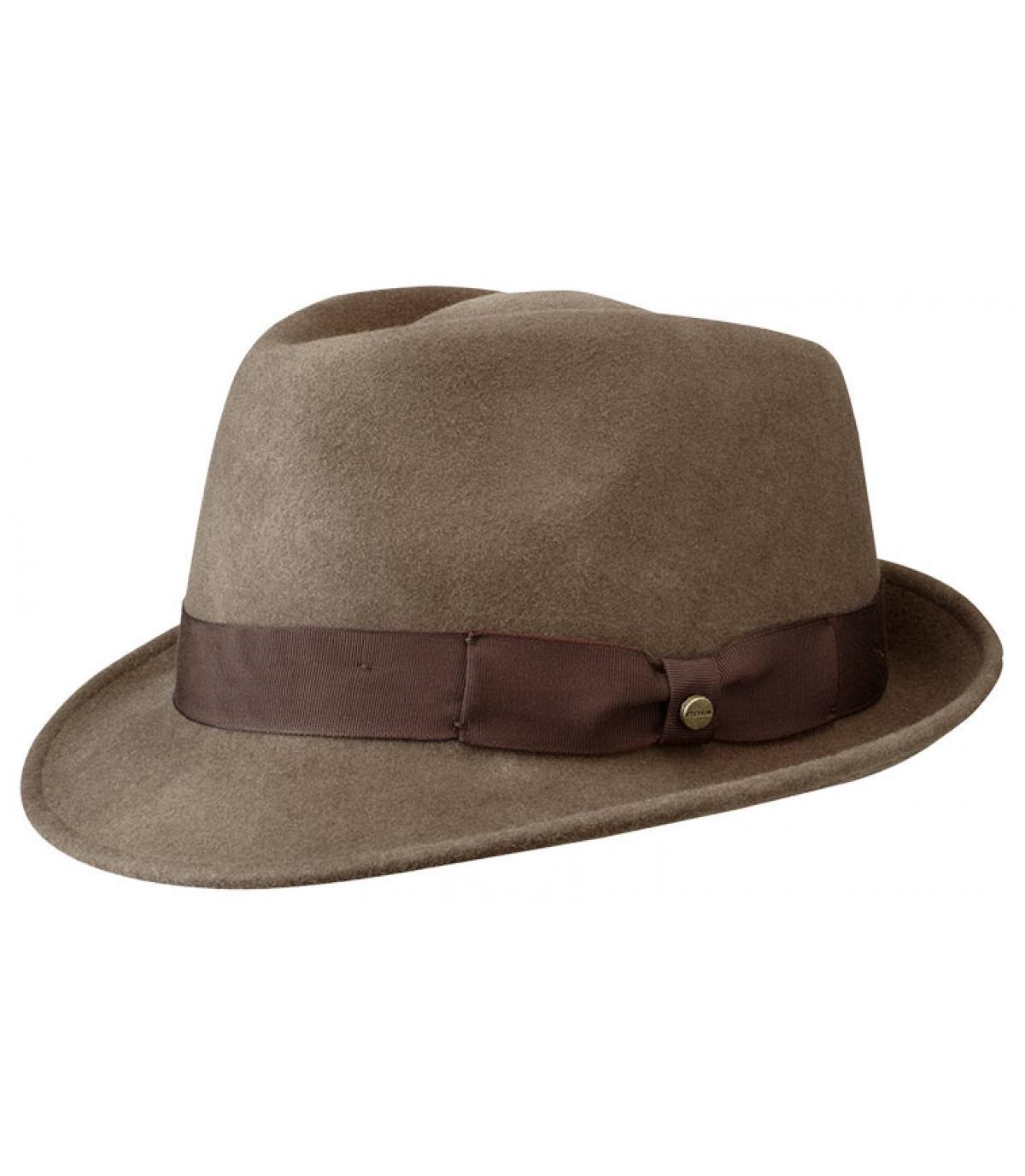 Chapeau homme Stetson marron