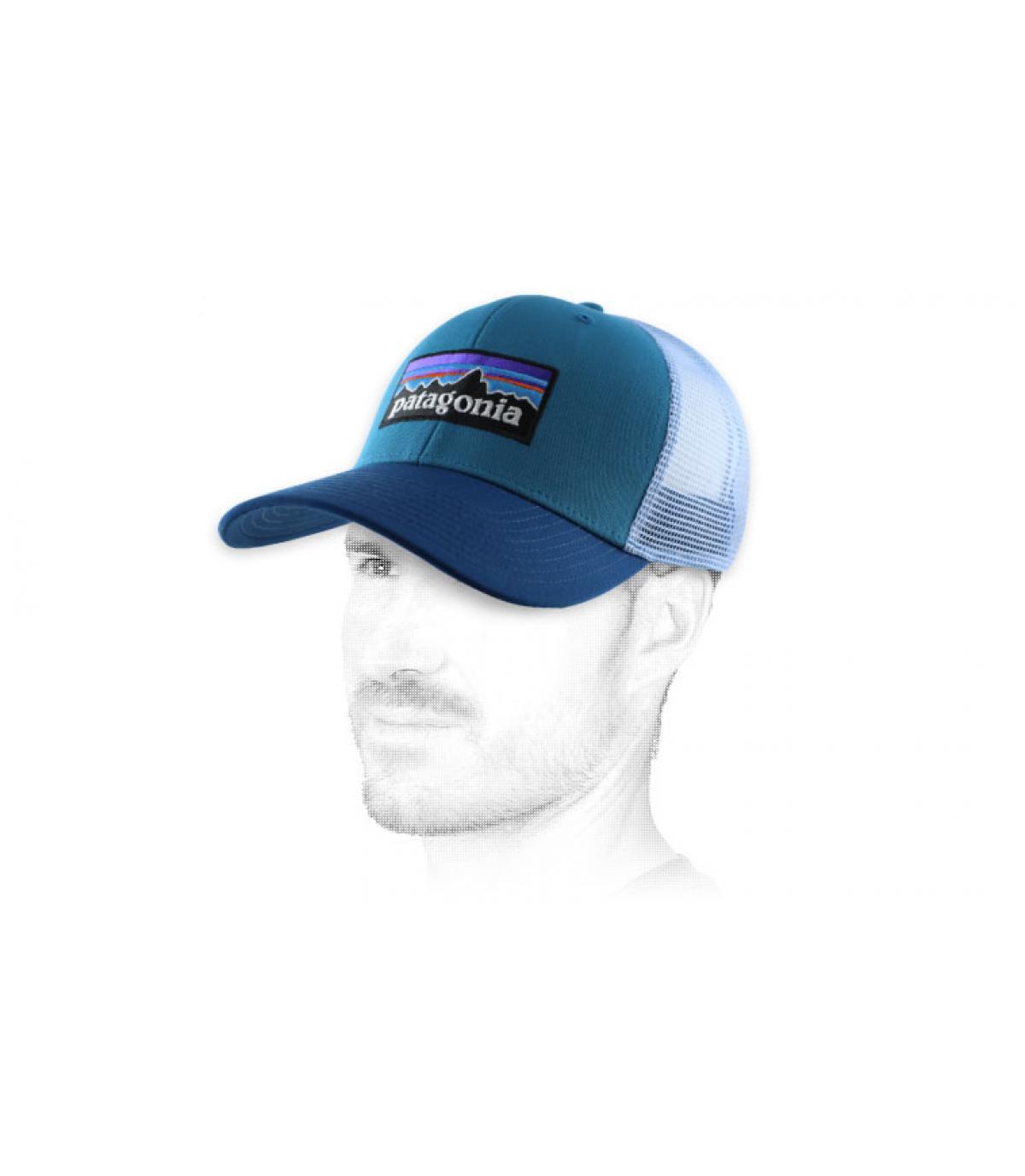 trucker bleue Patagonia