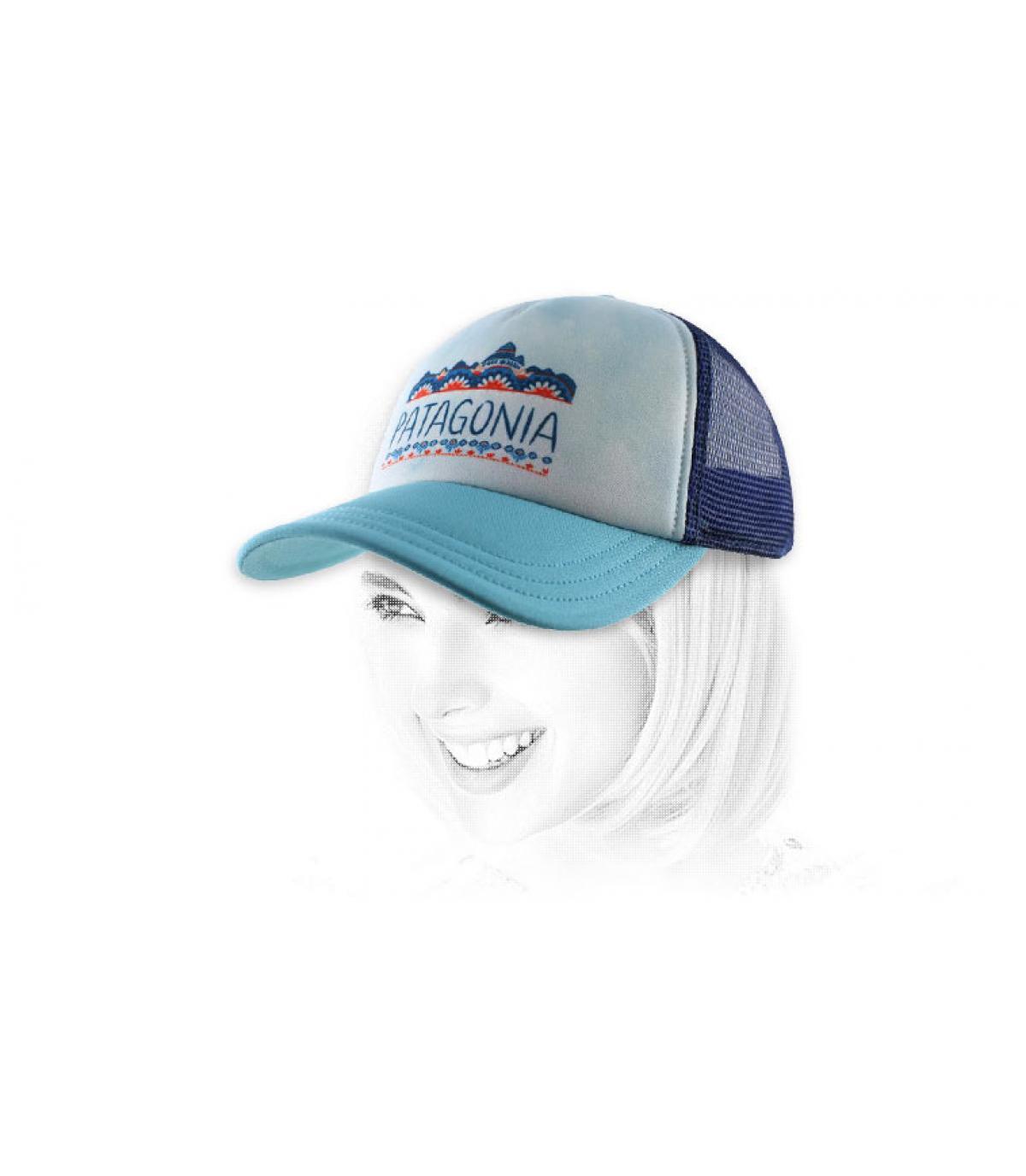 casquette femme bleue Patagonia