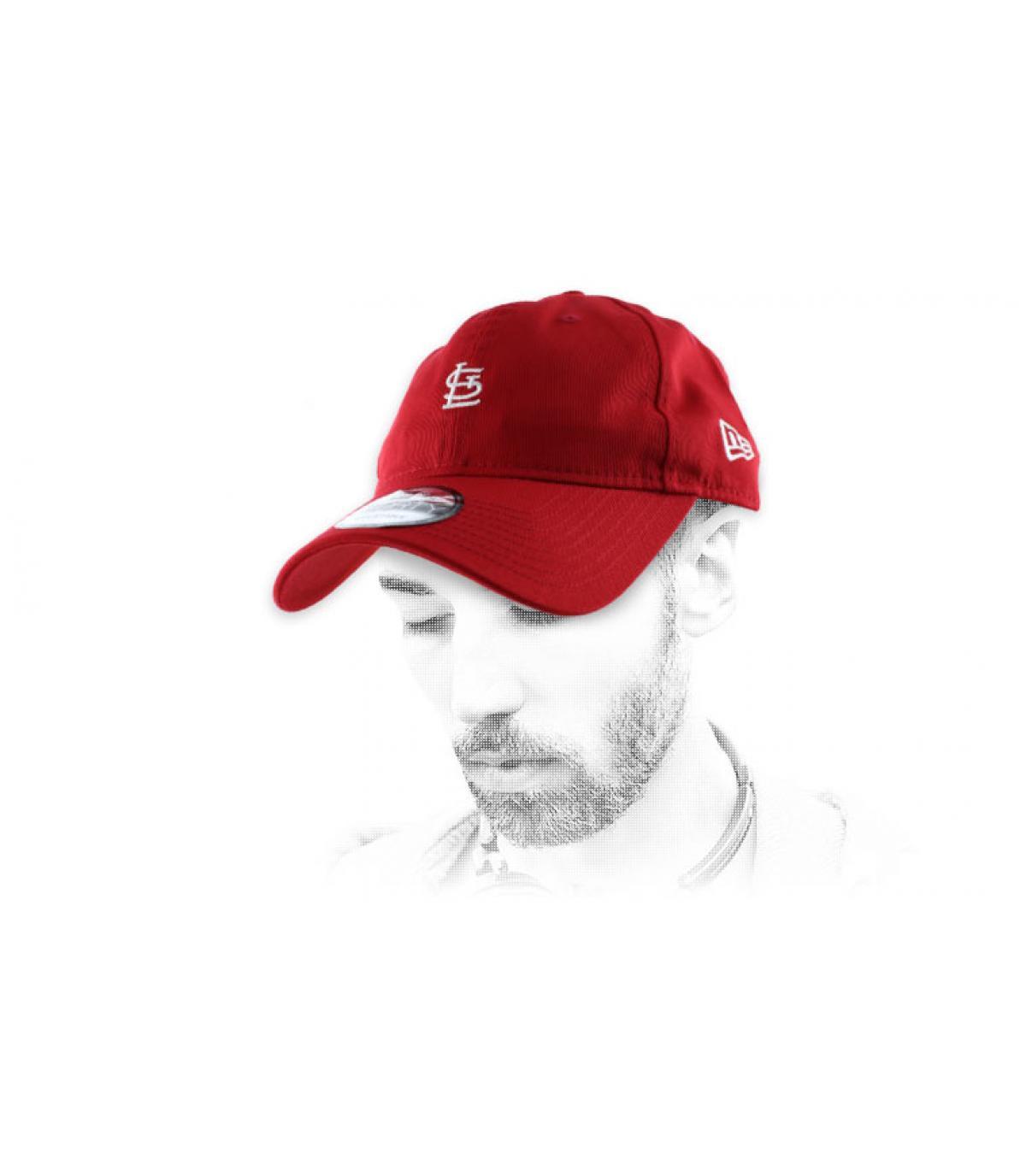 casquette St Louis rouge