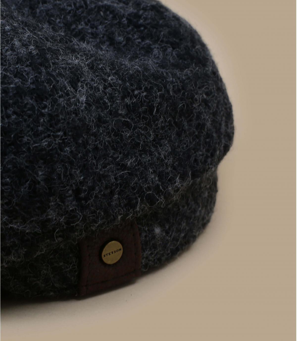 béret noir hiver stetson