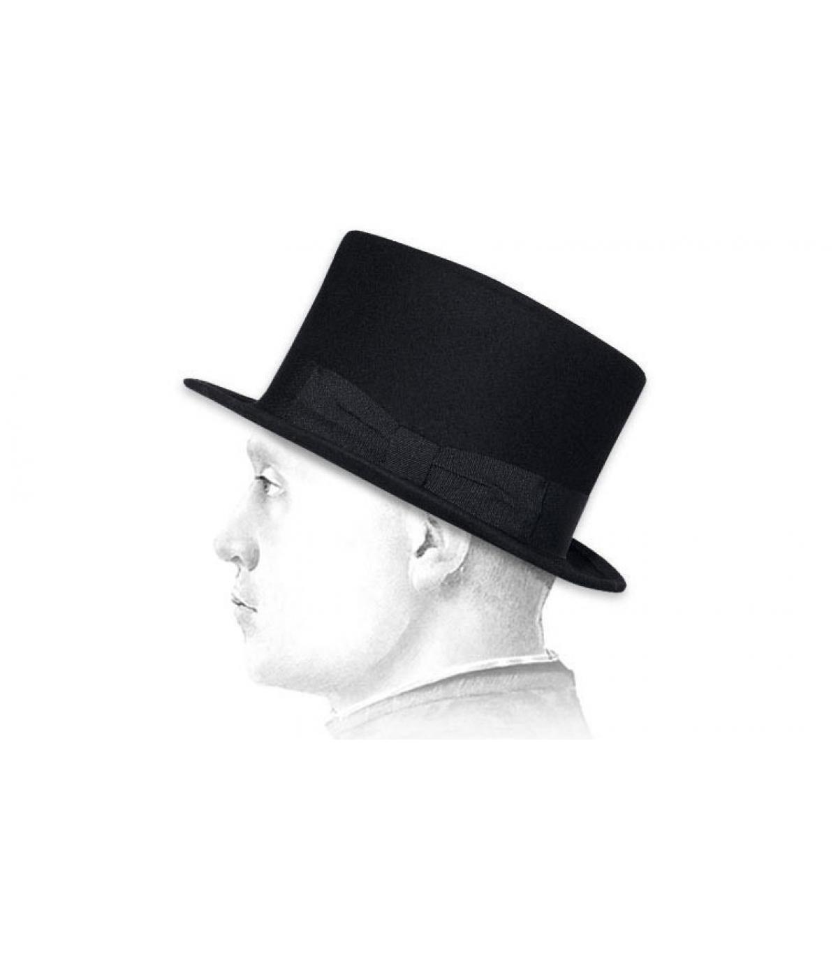 chapeau haut de forme homme