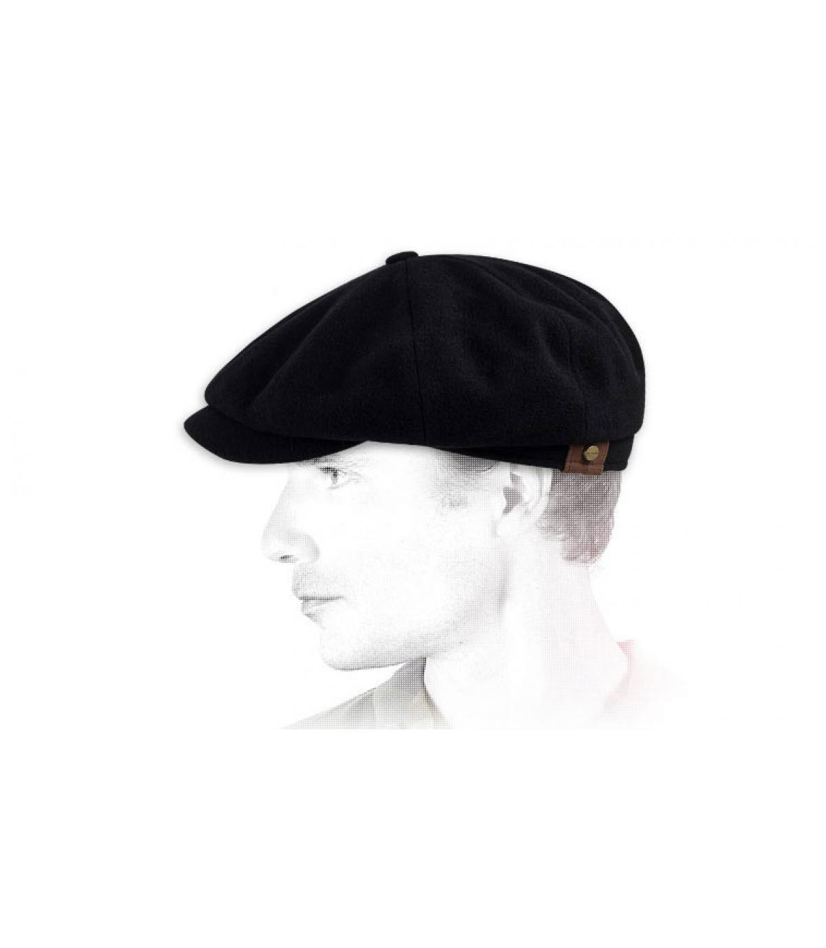 Détails Hatteras noire wool/cashmere - image 3
