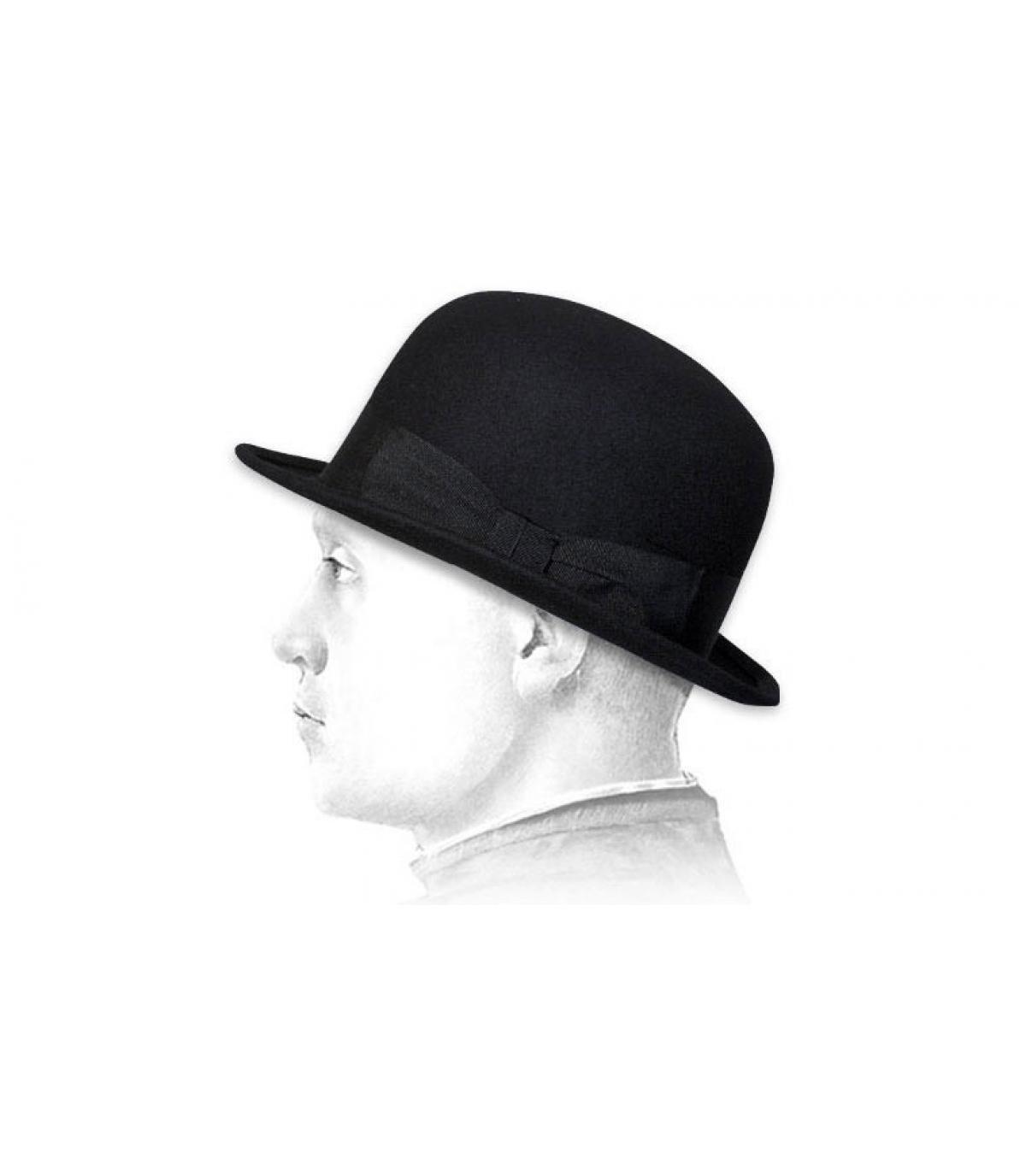 chapeau melon homme