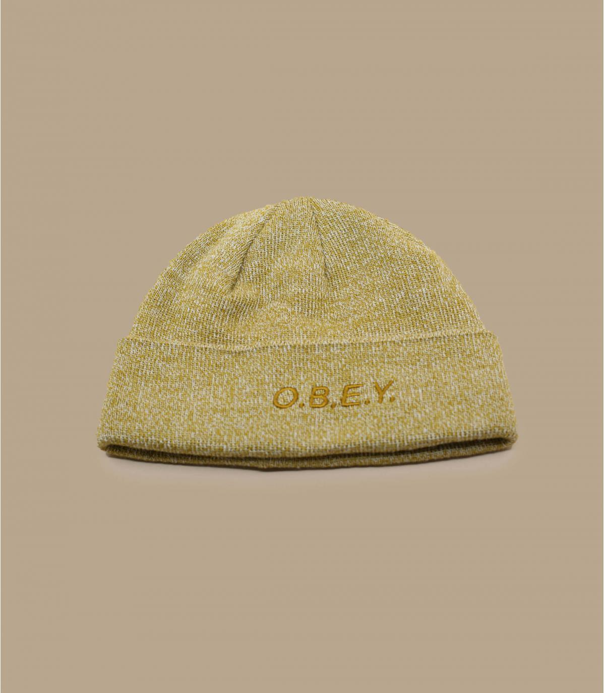 bonnet beige Obey