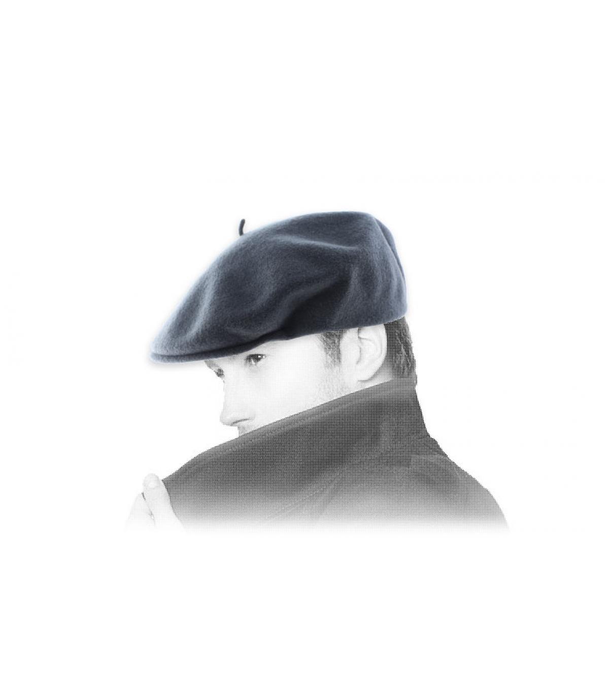béret gris Laulhère