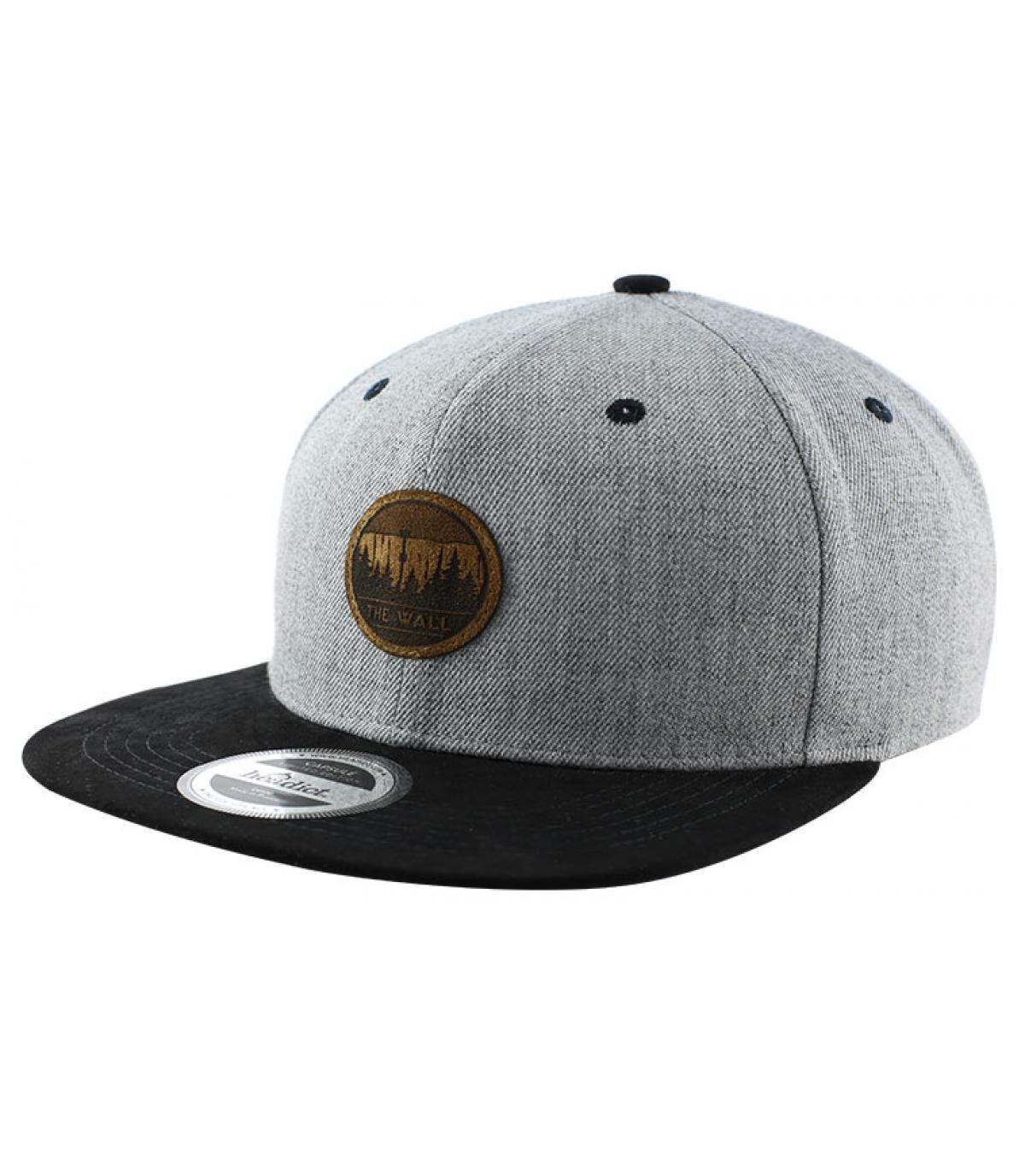 snapback The Wall grise noire