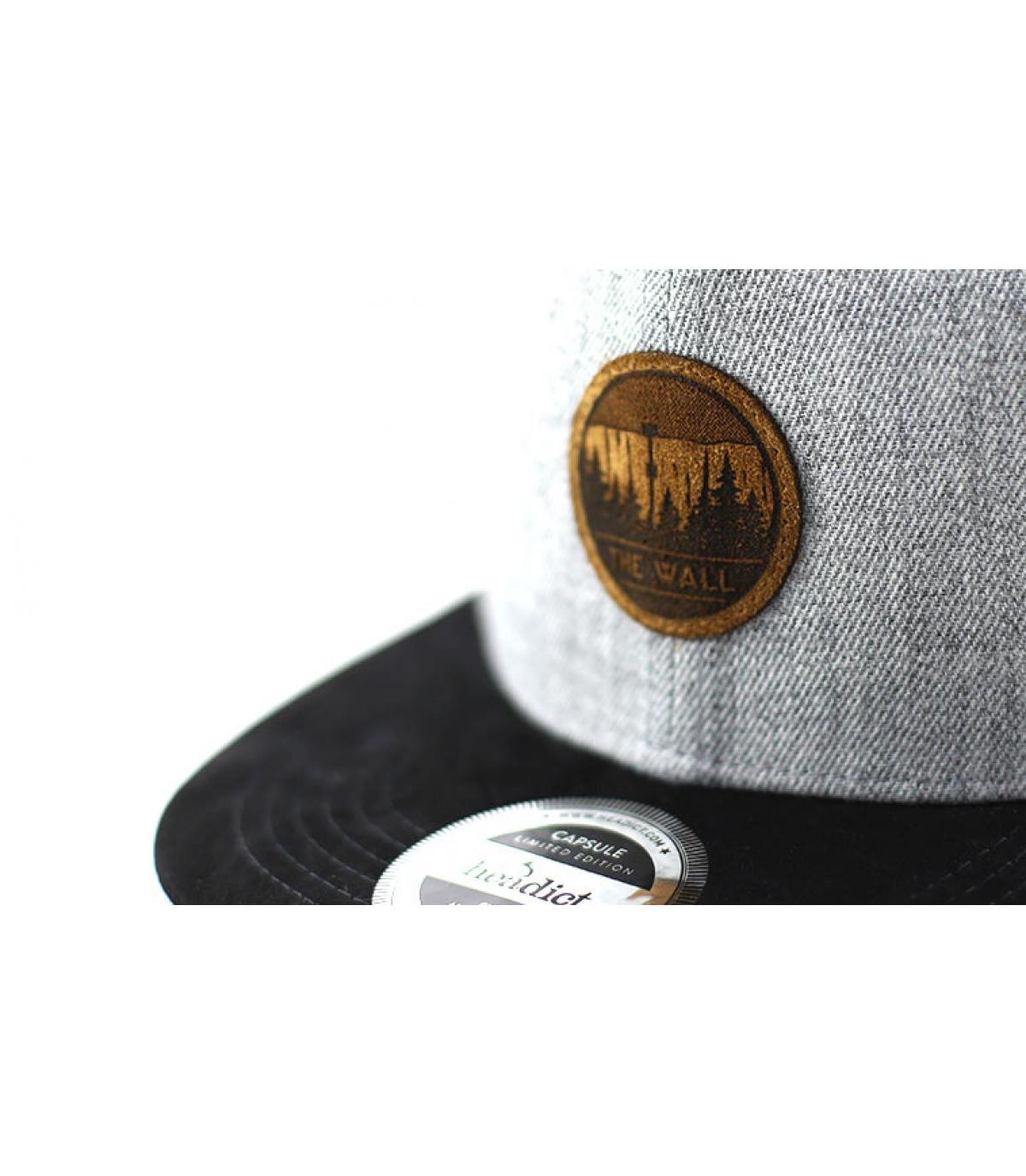 Détails Snapback The Wall grey black - image 3