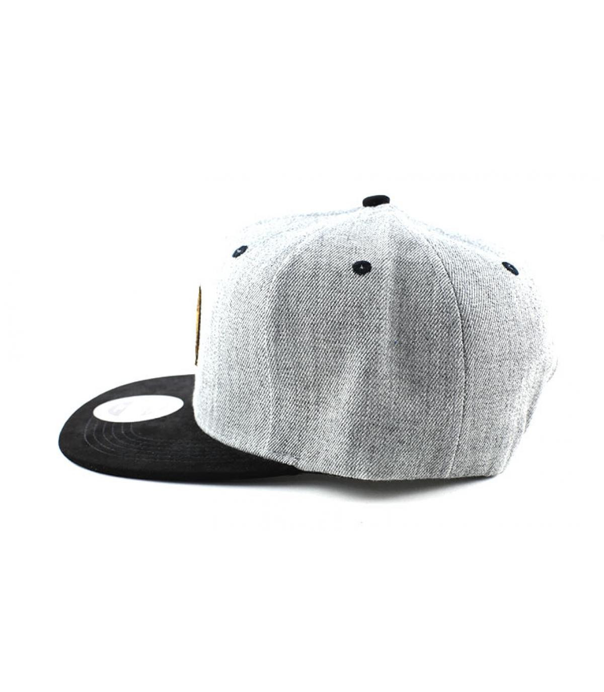 Détails Snapback The Wall grey black - image 4