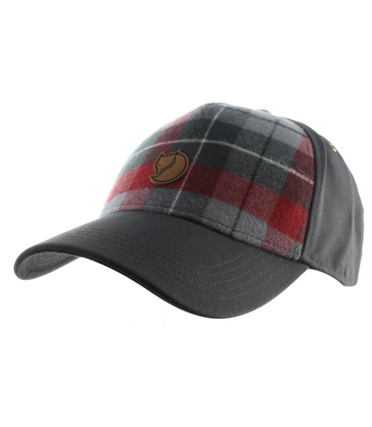 Détails Ovik plaid cap dark grey - image 2