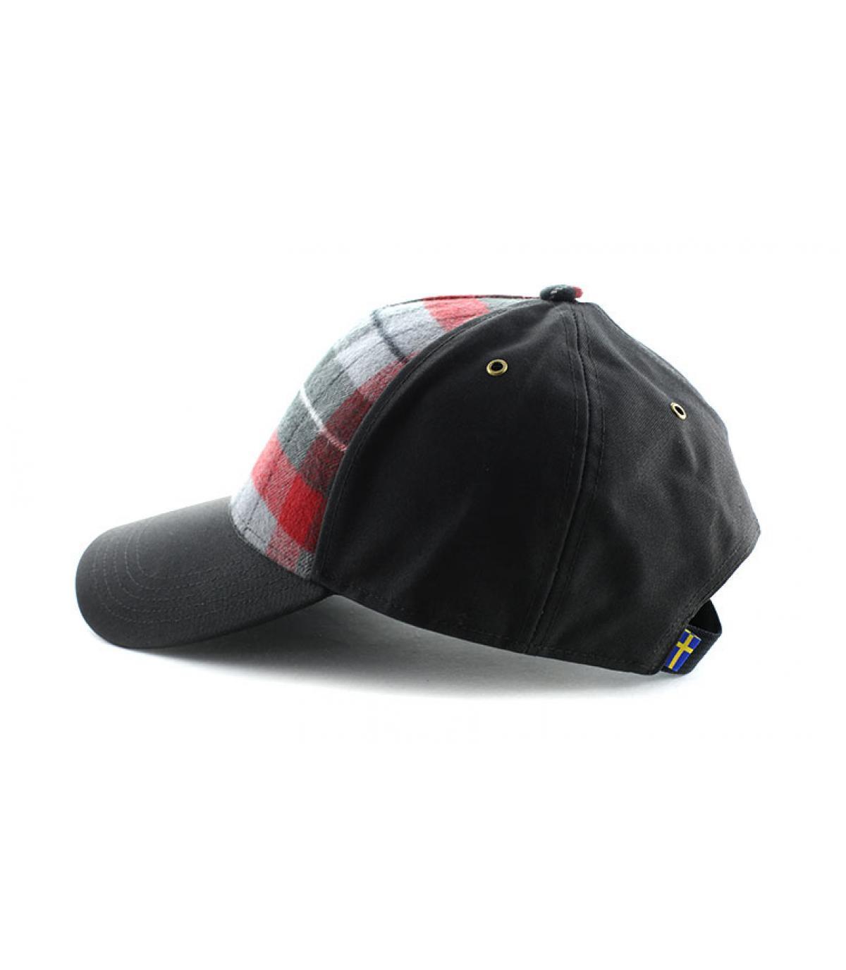 Détails Ovik plaid cap dark grey - image 4