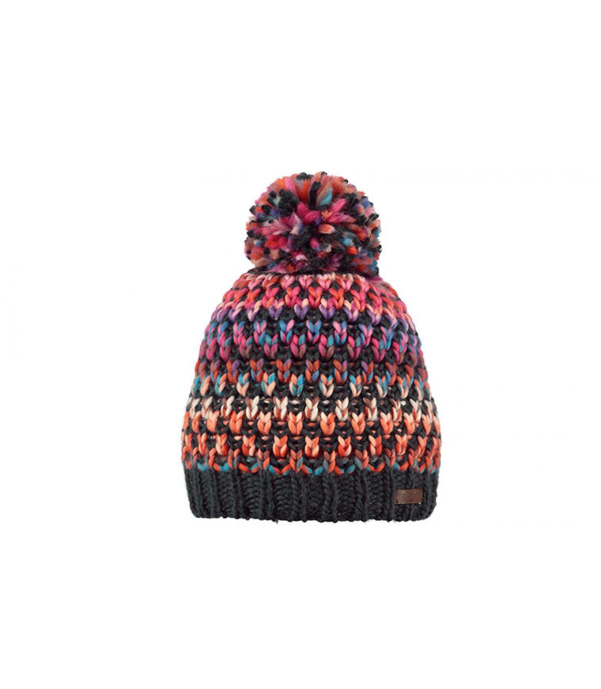 bonnet pompon multicolore Barts