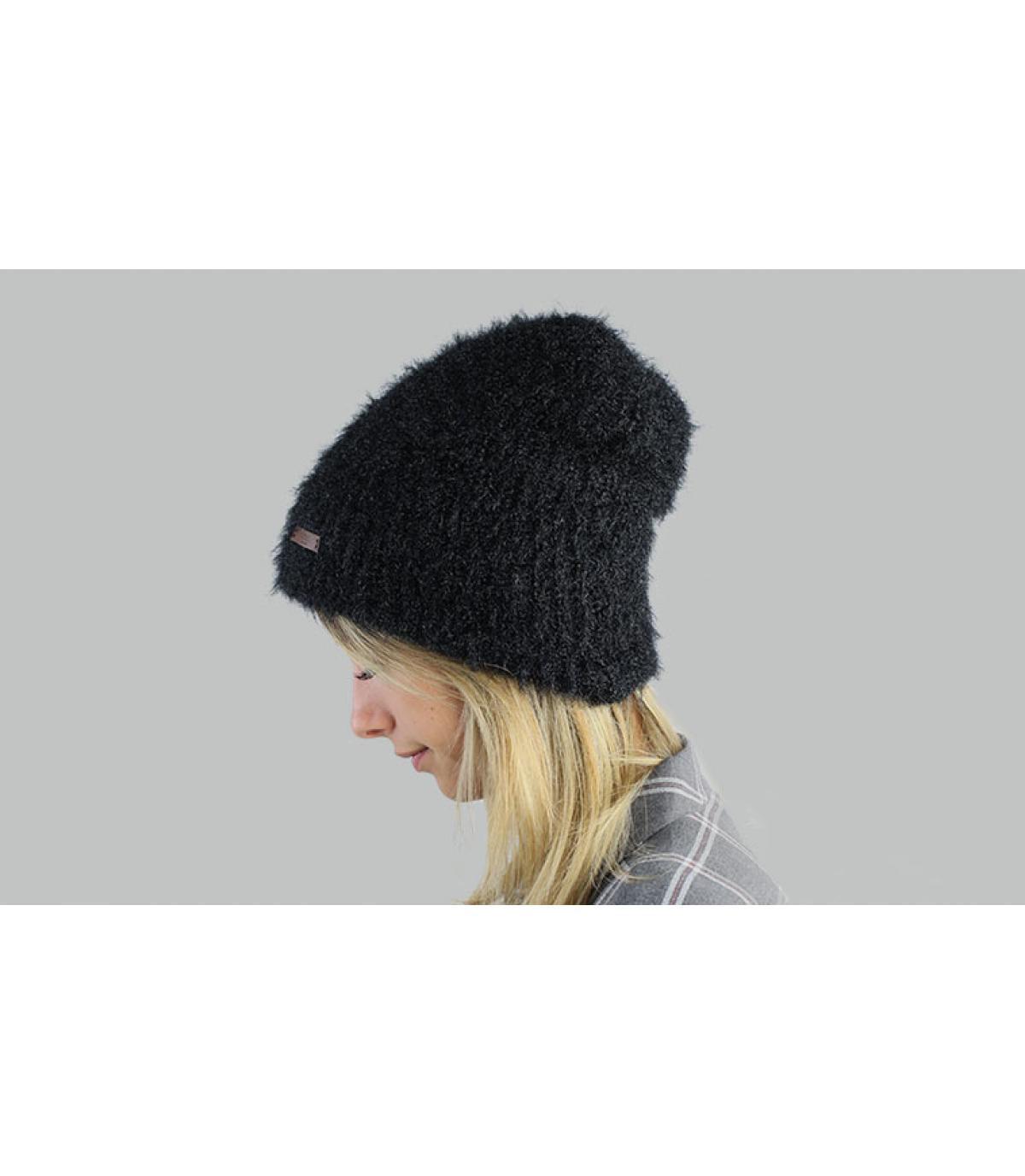 bonnet long noir Barts