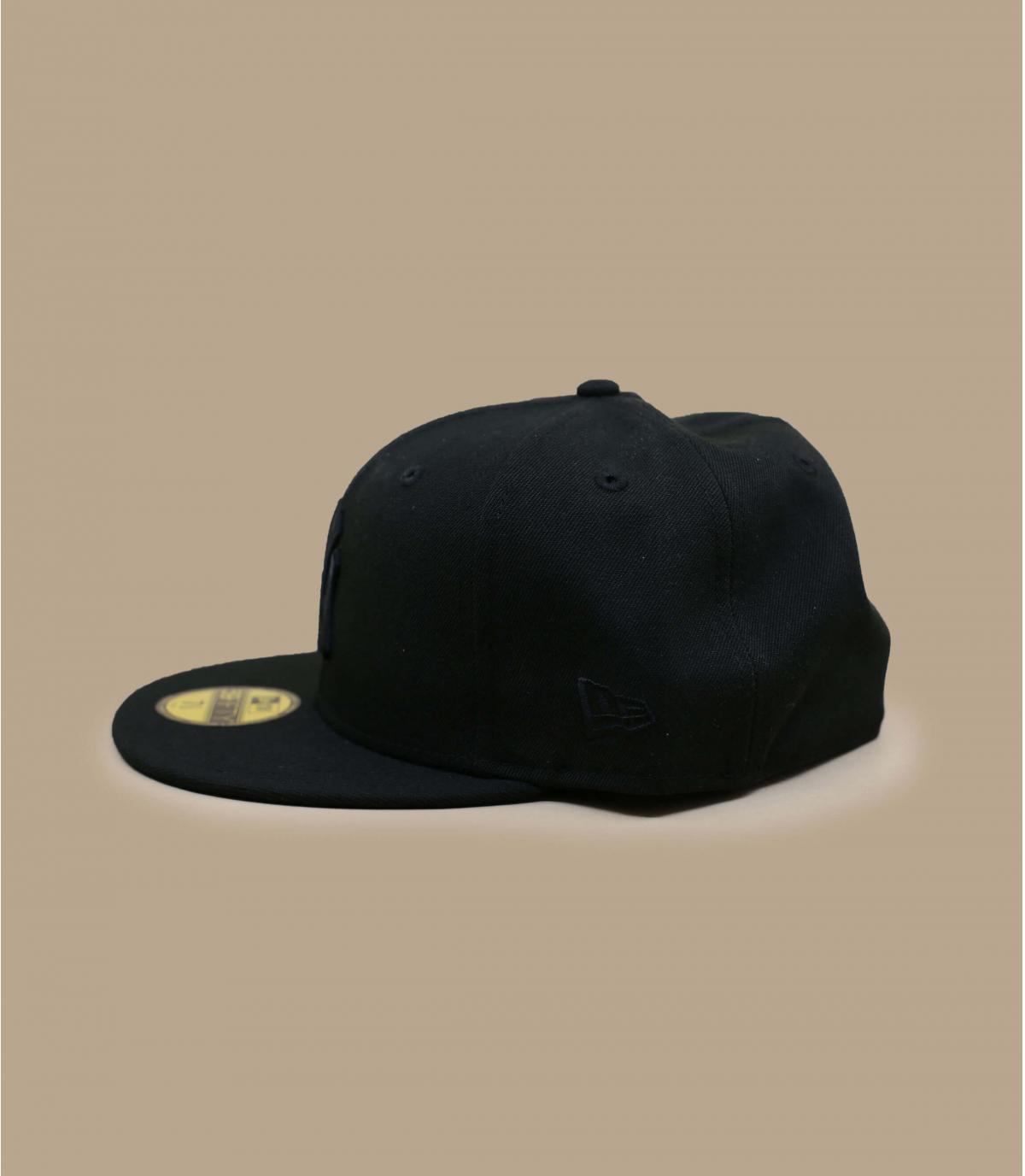 Détails Casquette NY 59fifty noir noir - image 3