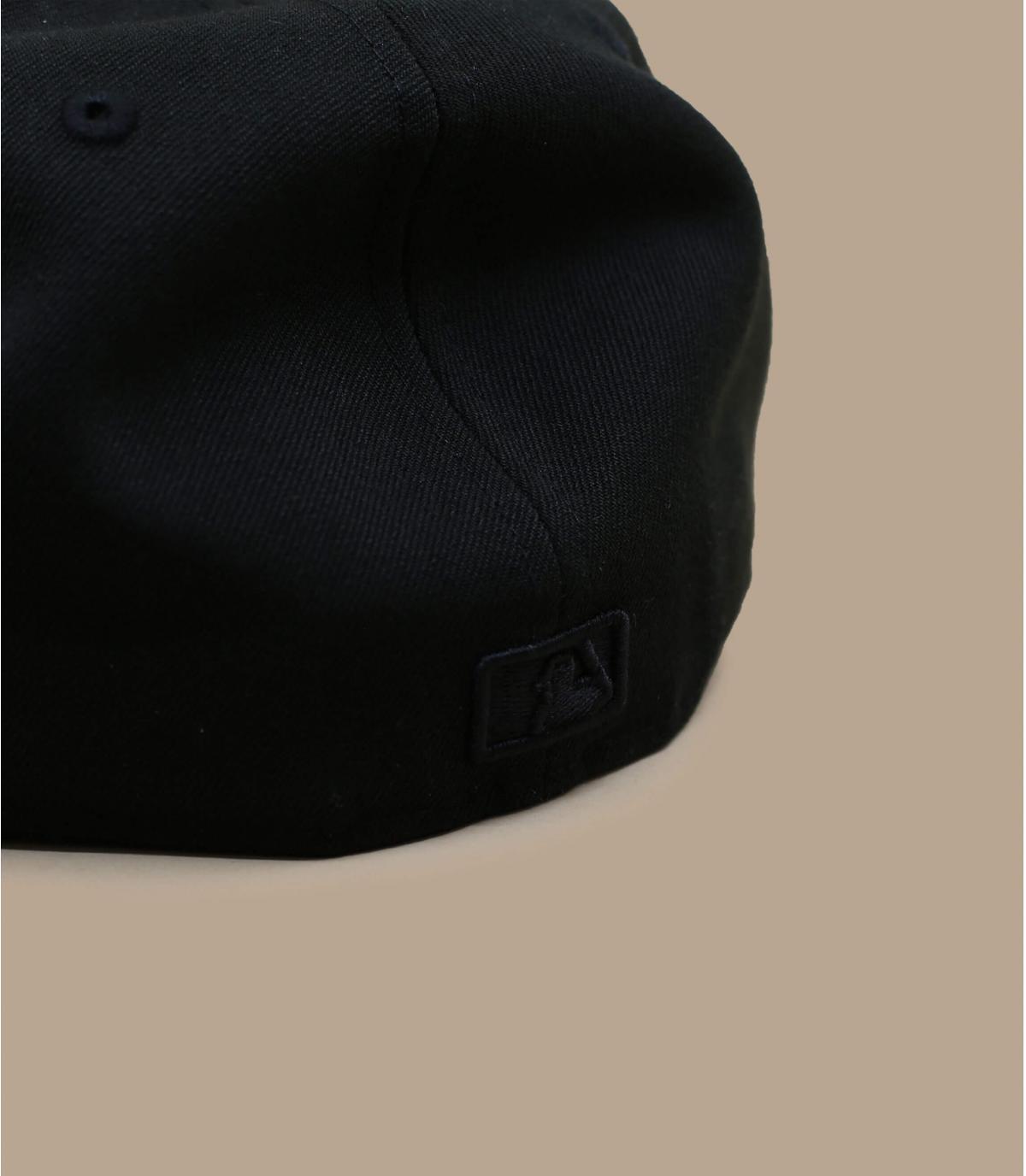 Détails Casquette NY 59fifty noir noir - image 4