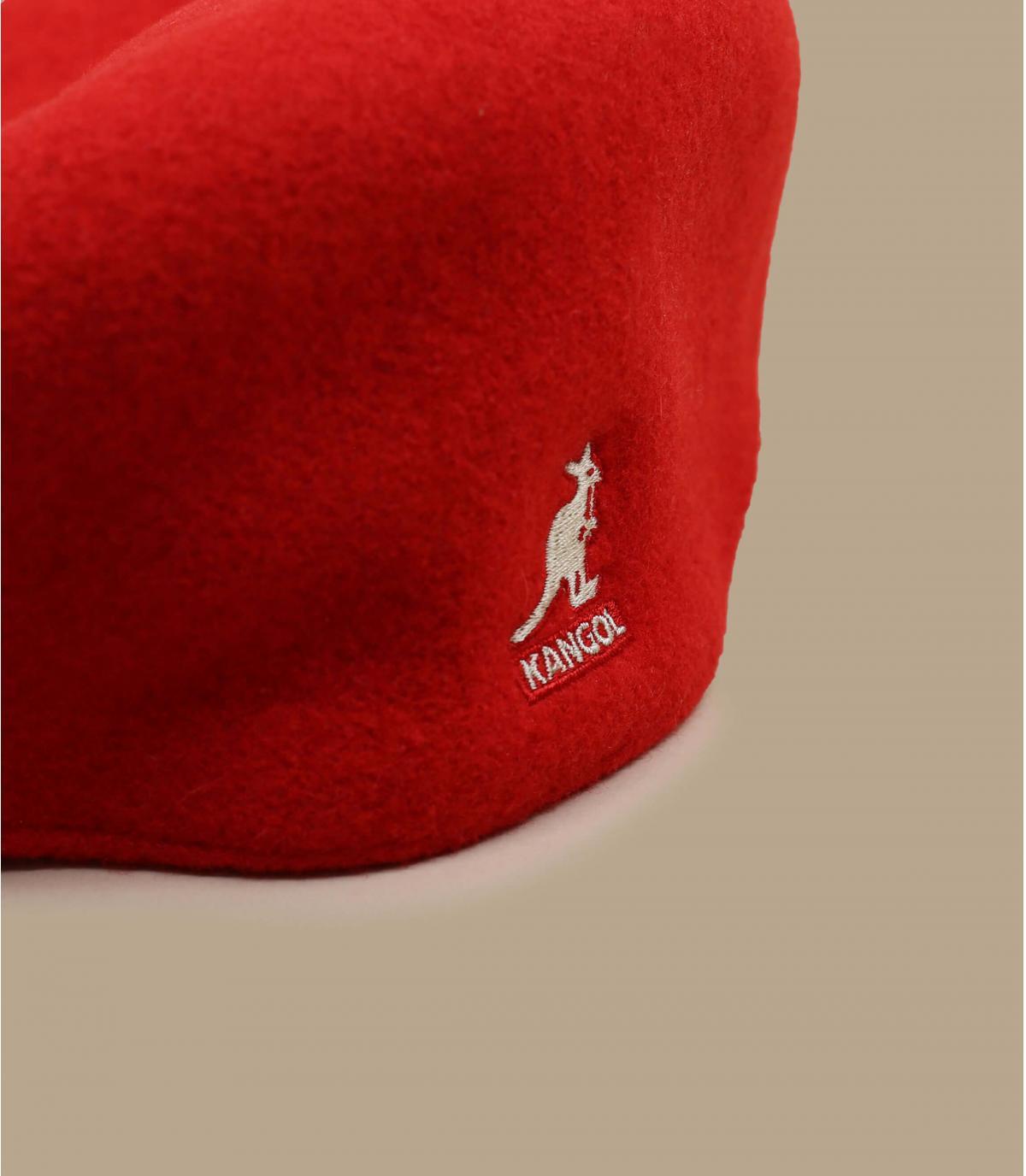 Détails 504 wool rouge - image 2