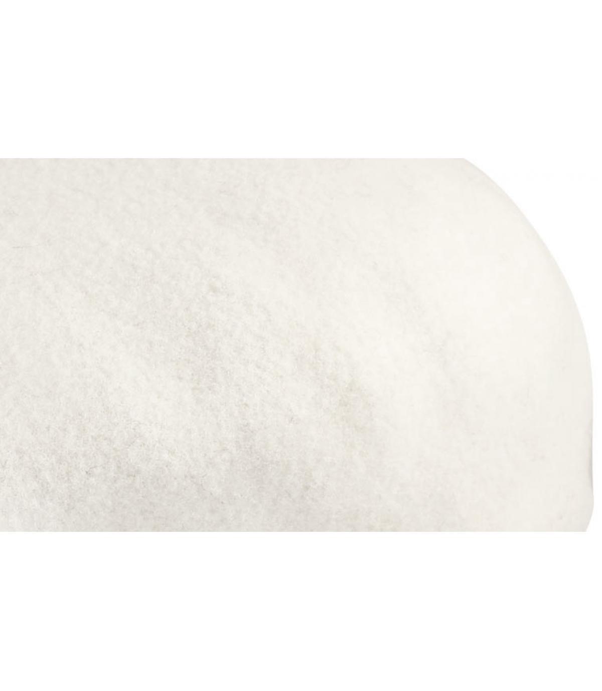 Beret 504 blanc