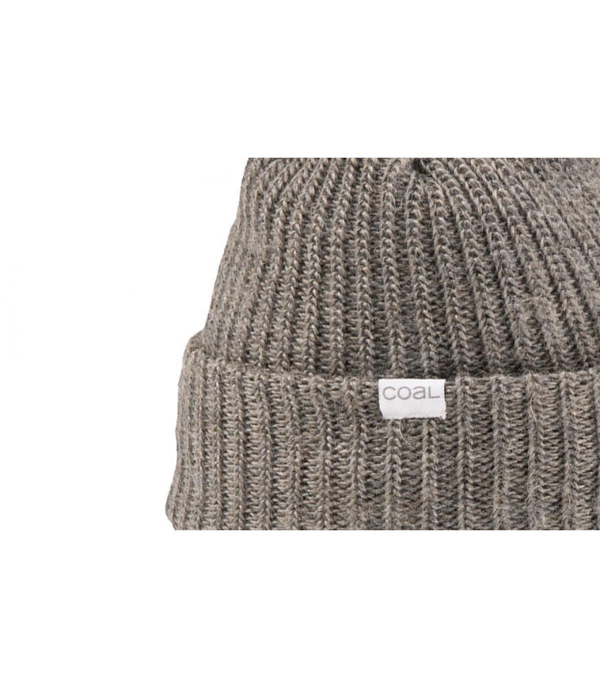 bonnet mohair gris clair