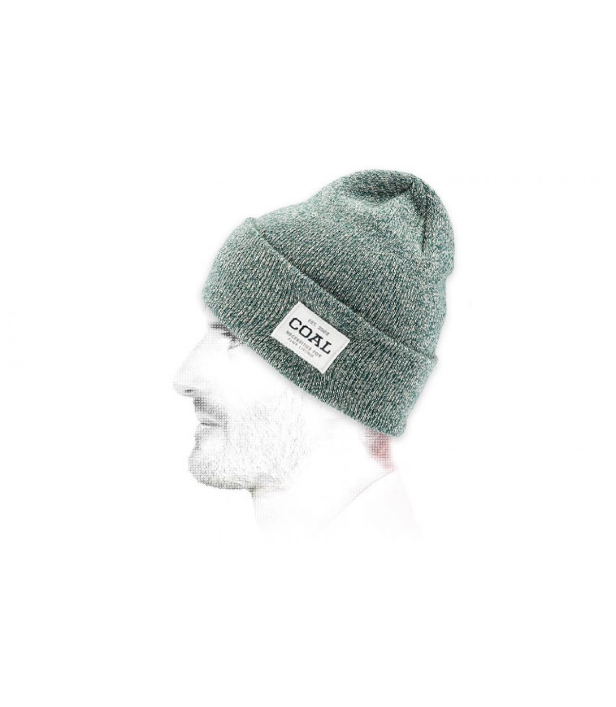 bonnet vert revers Coal