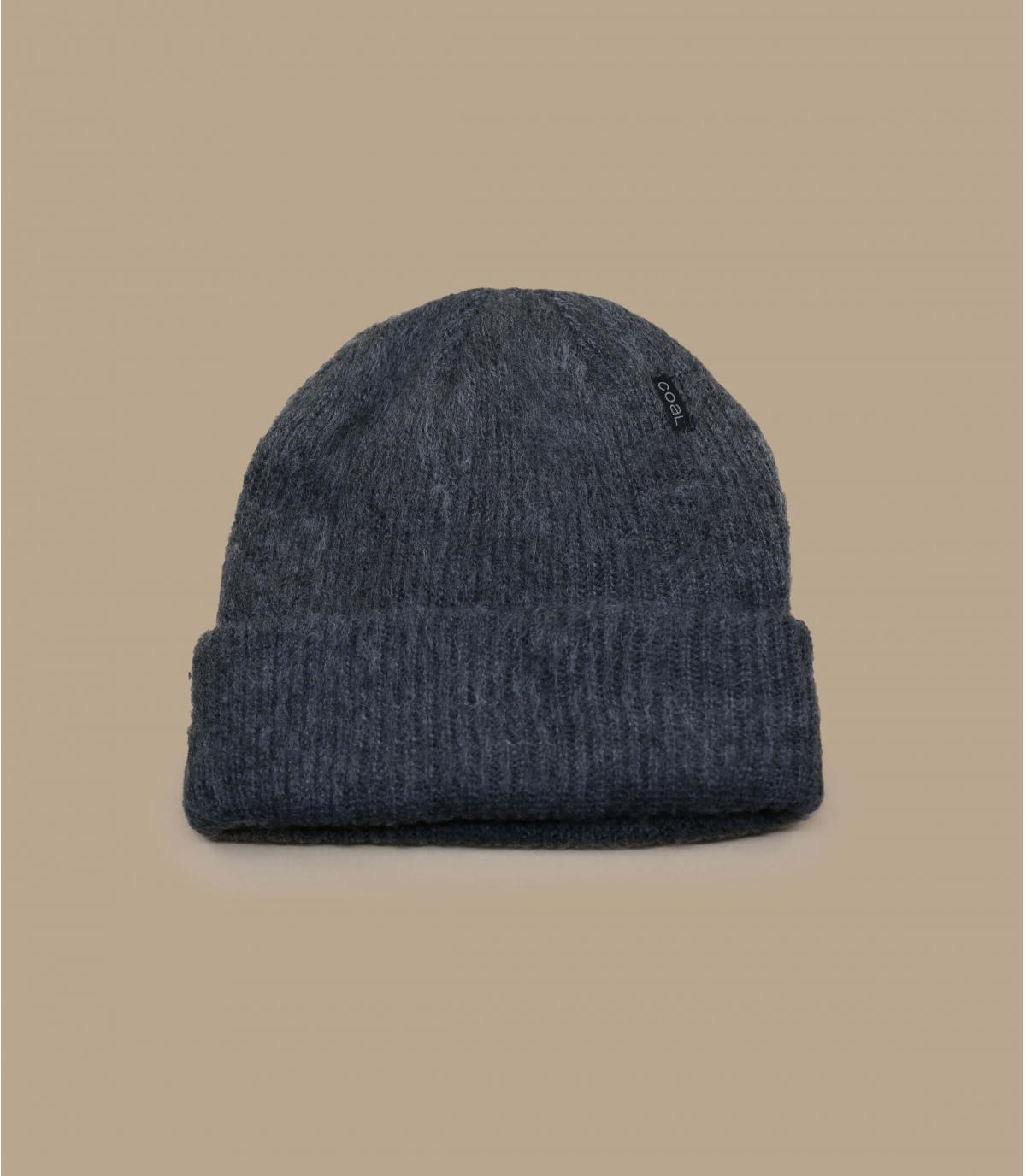 bonnet long gris Coal