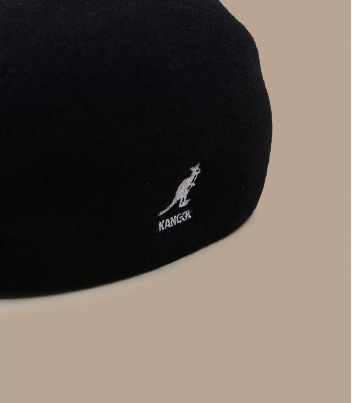 Détails 507 wool seamless noir - image 2