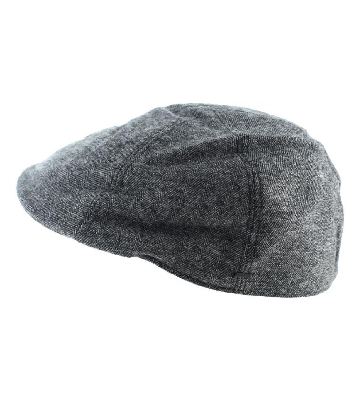 casquette duckbill noir coton