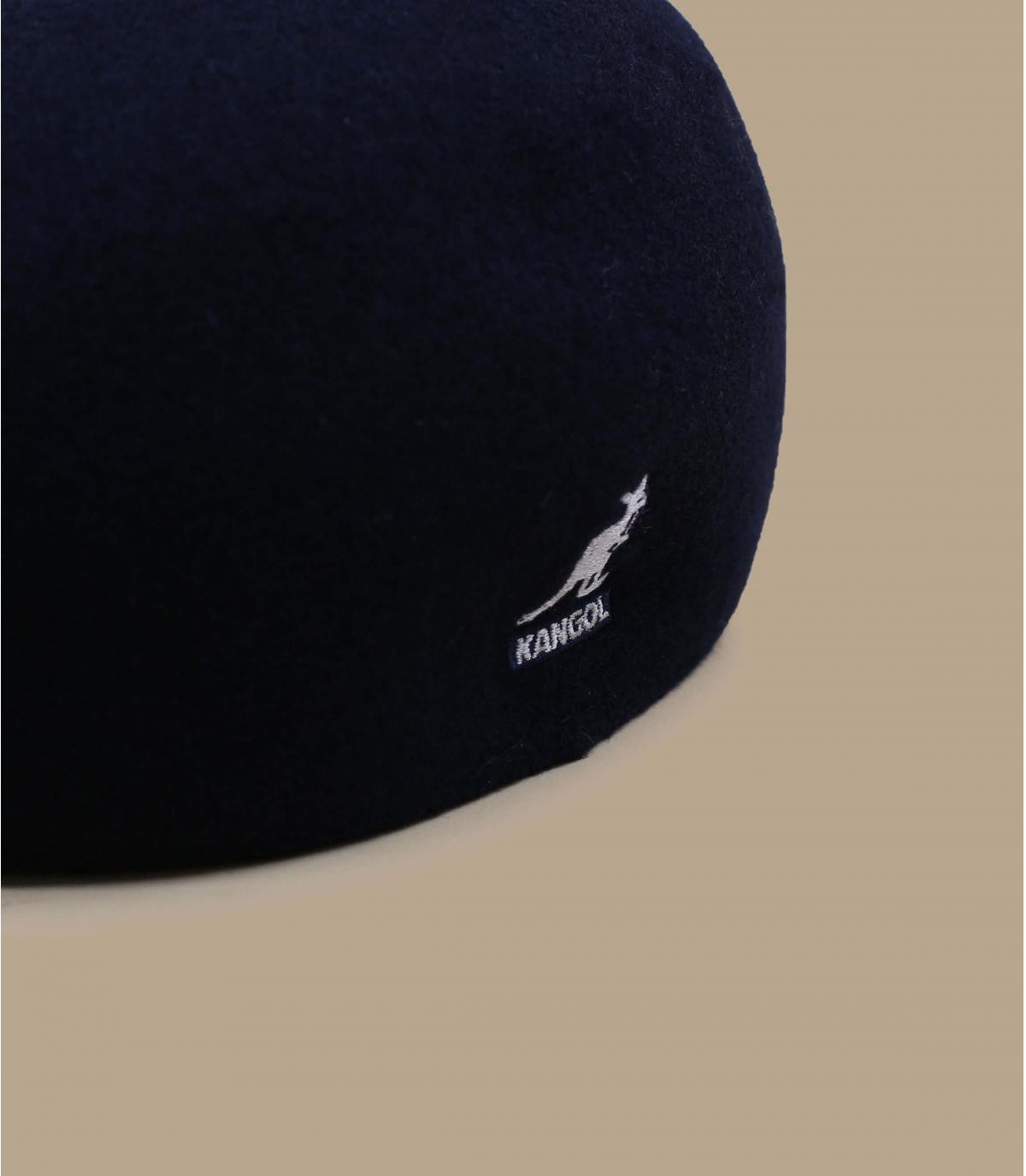 Détails 507 wool seamless navy - image 2