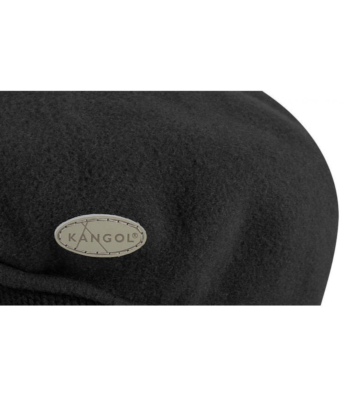 Détails 504 wool earflap noir - image 2